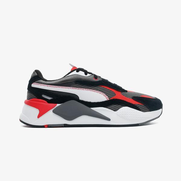 Puma RS-X³ Twill Airmesh Erkek Gri Spor Ayakkabı