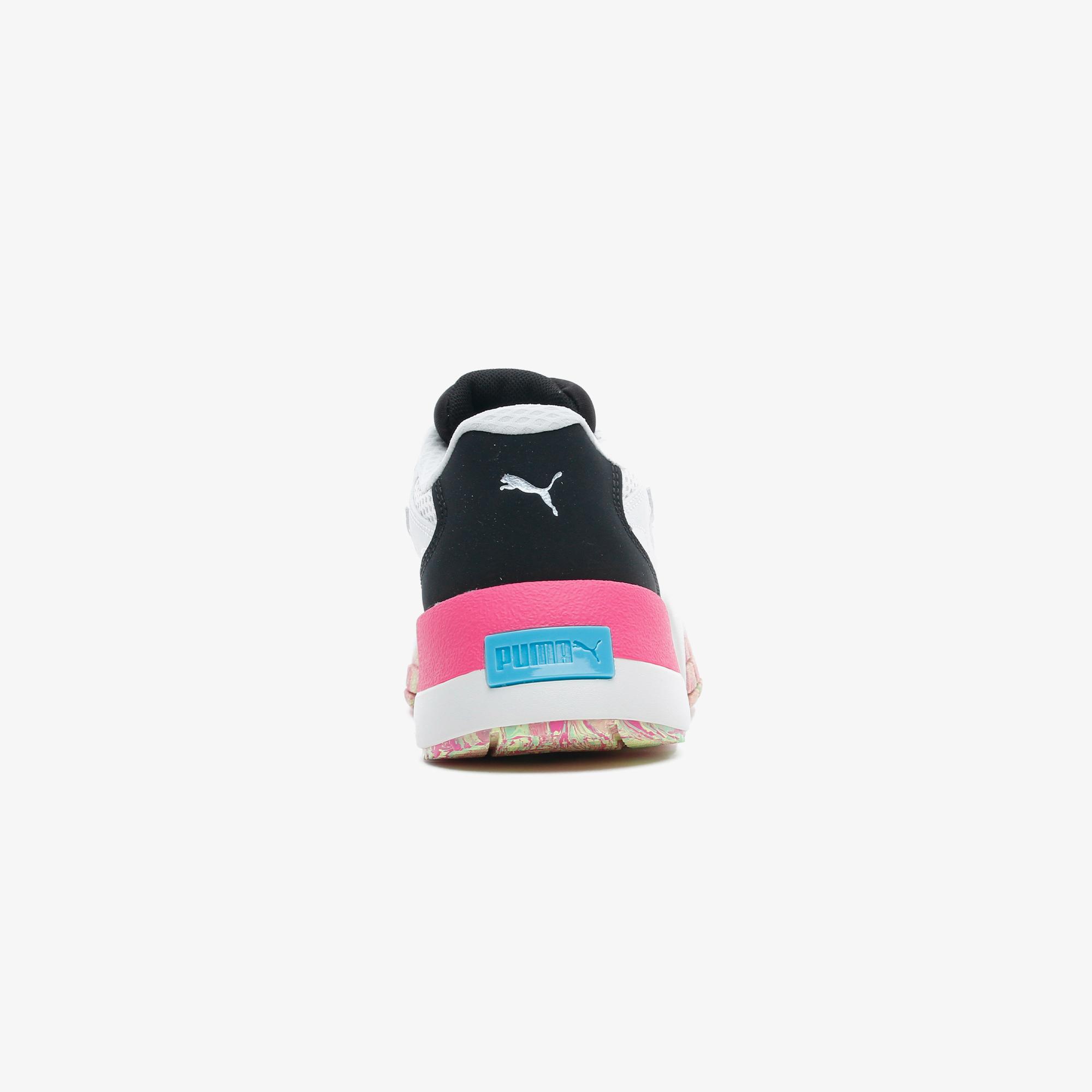 Puma Hedra Chaos Kadın Krem Spor Ayakkabı