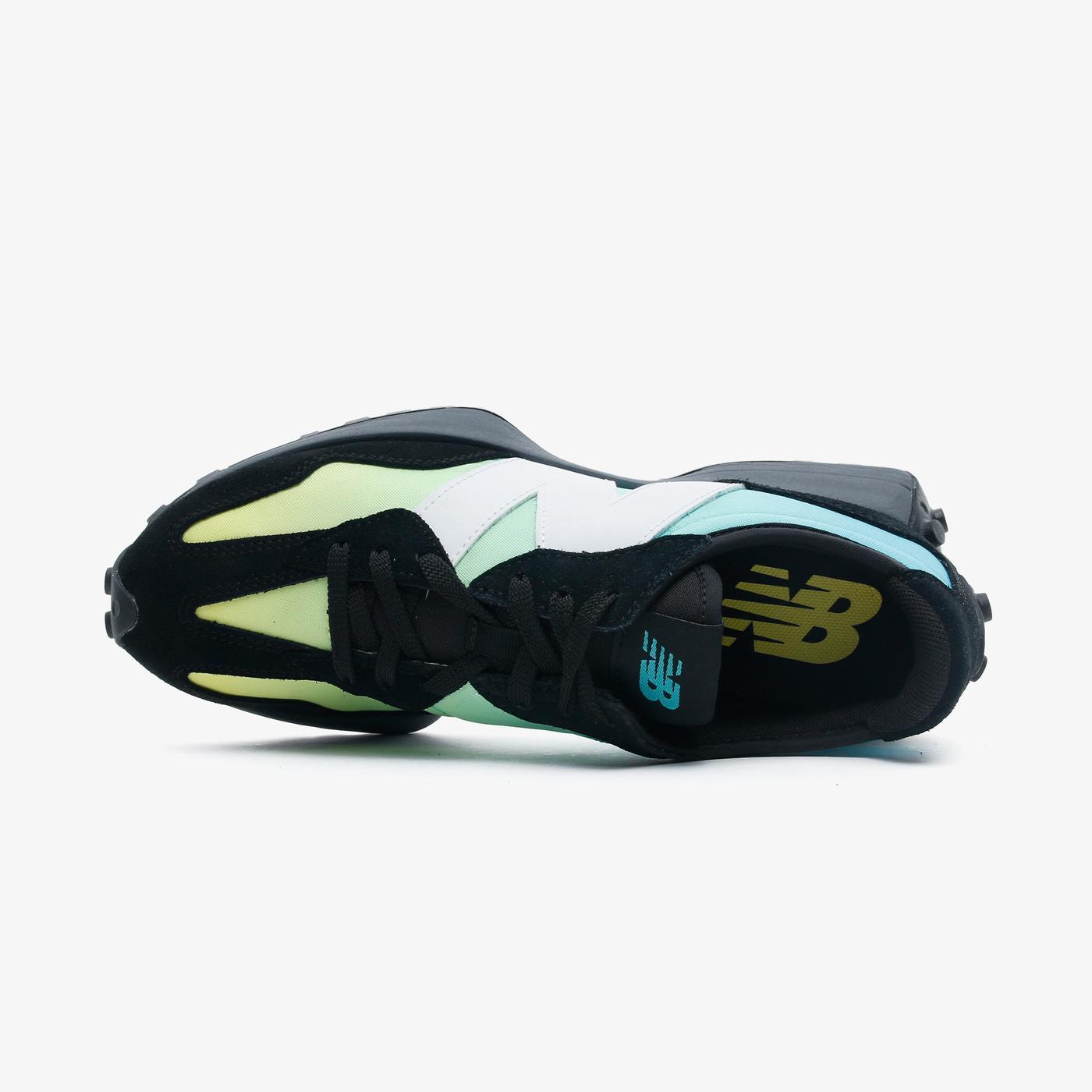 New Balance 327 Erkek Siyah Spor Ayakkabı