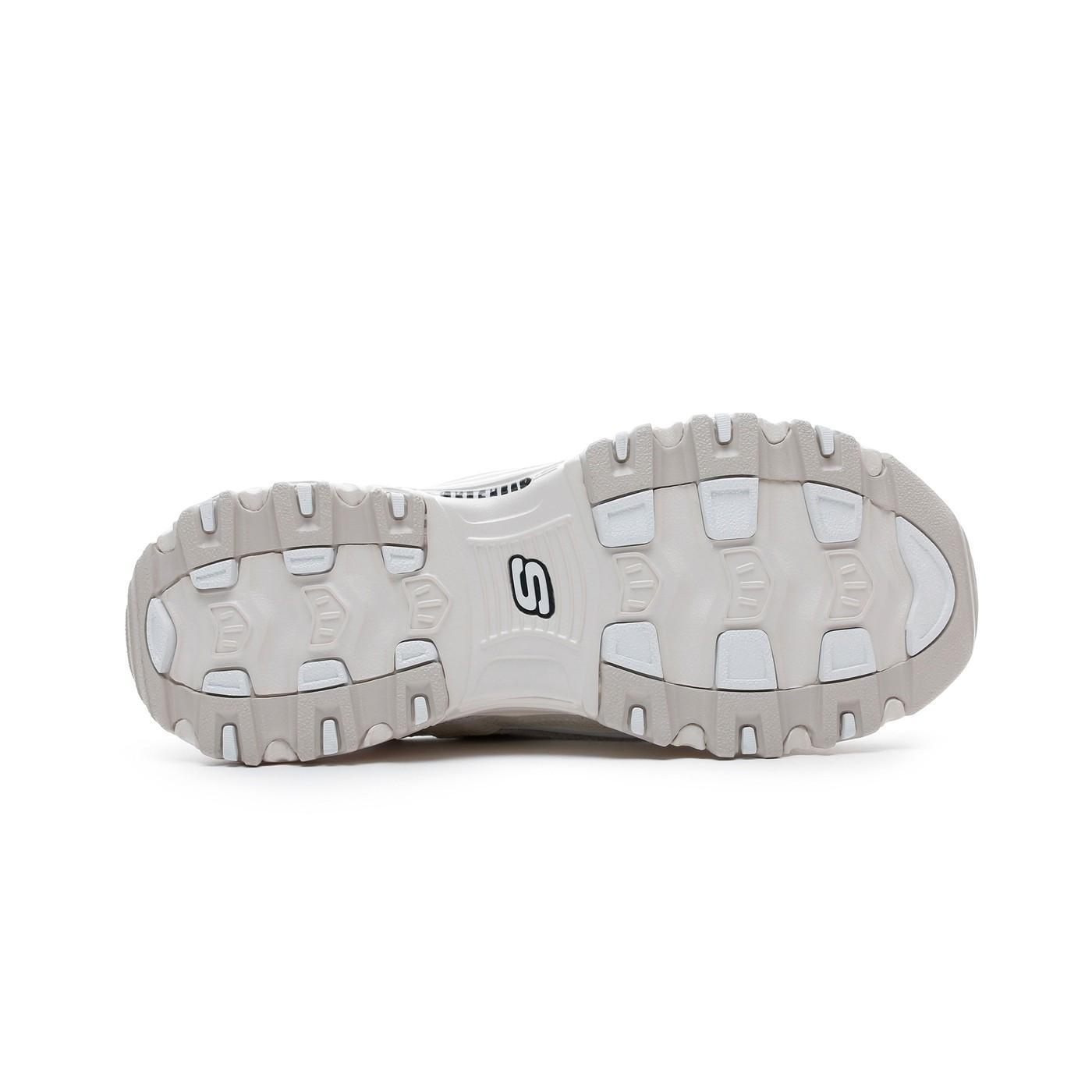 Skechers D'Lites Beyaz Kadın Spor Ayakkabı