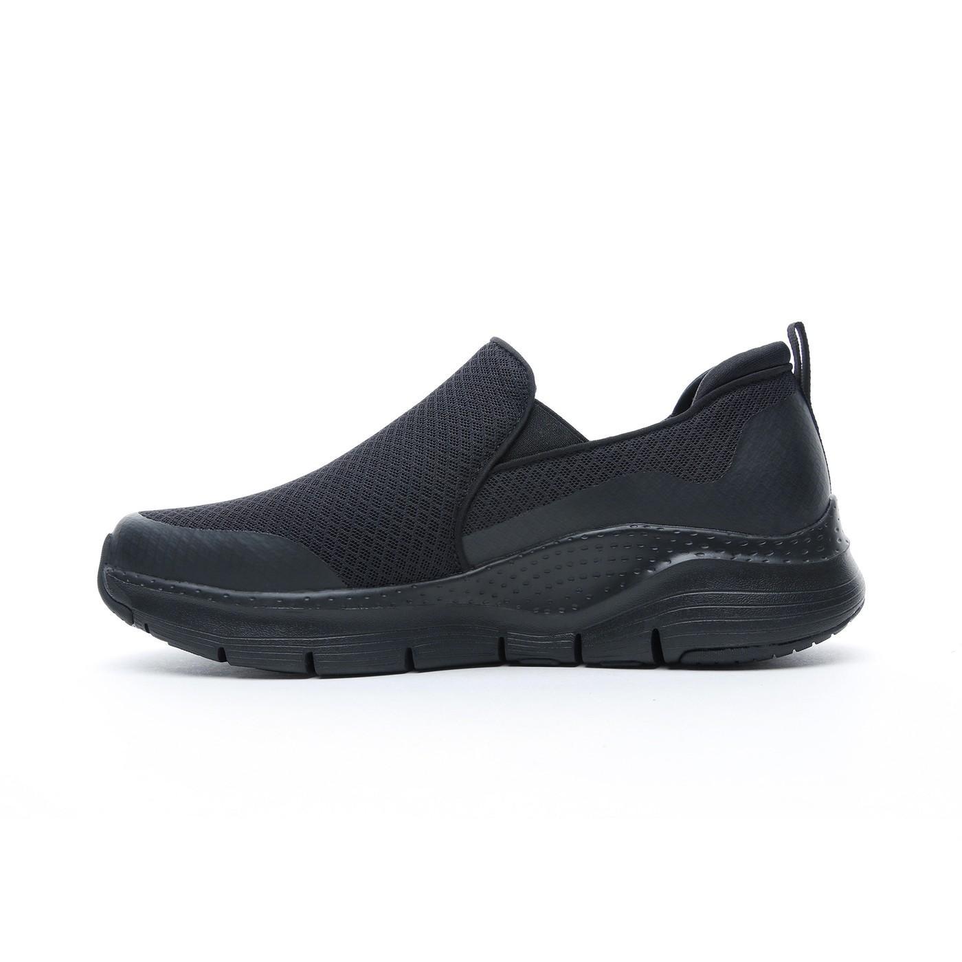 Skechers Arch Fit - Banlin Erkek Siyah Spor Ayakkabı