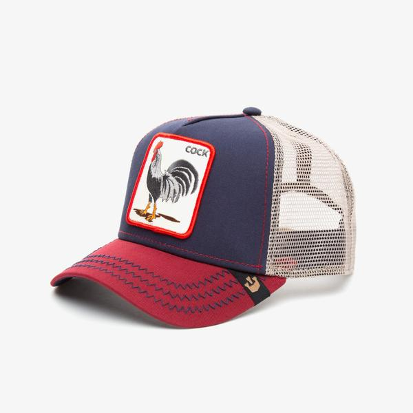 Goorin Bros Rooster Unisex Lacivert Şapka
