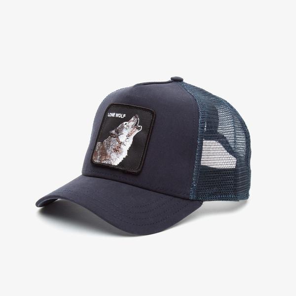 Goorin Bros Wolf Unisex Lacivert Şapka