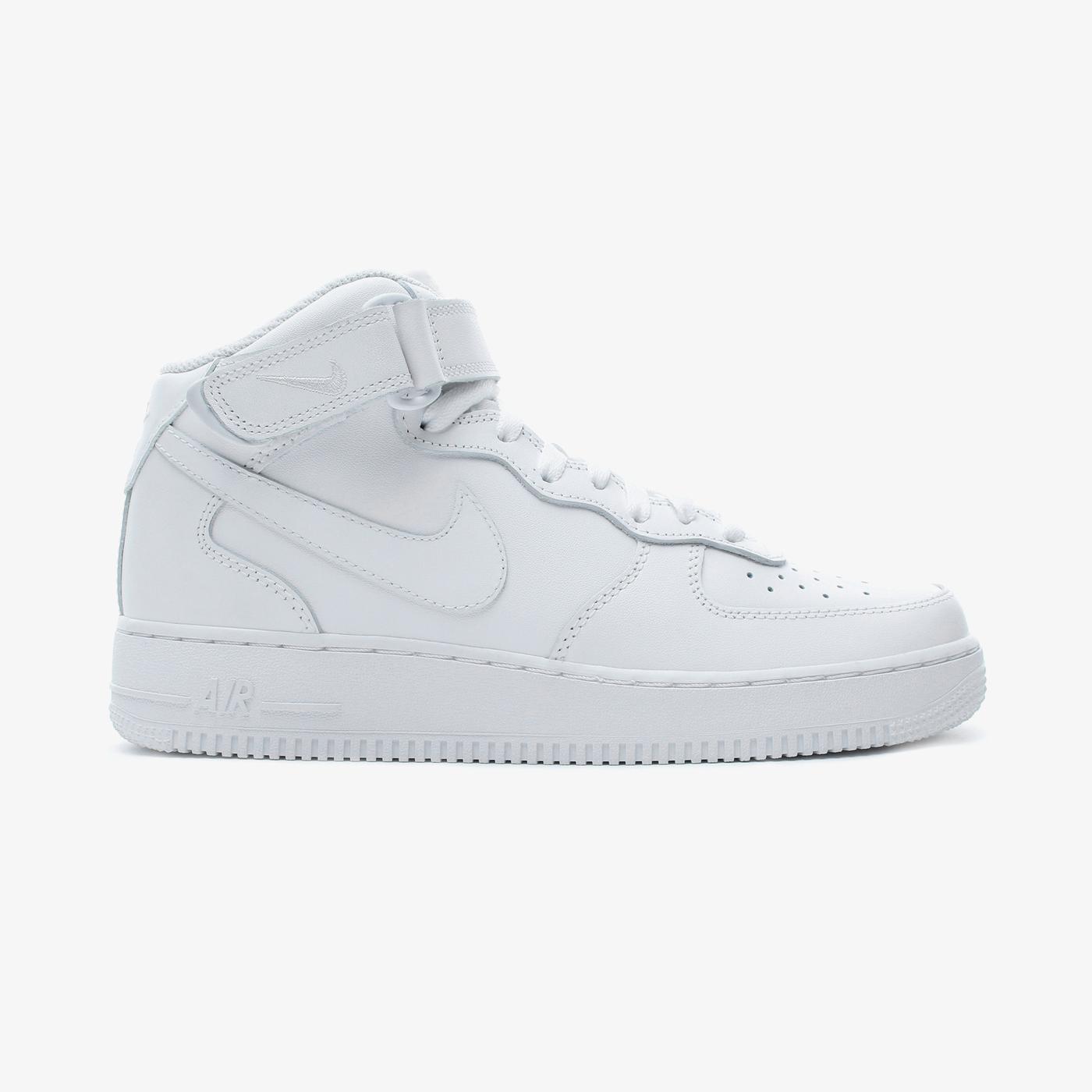 Nike Air Force 1 Mid '07 Erkek Beyaz Spor Ayakkabı