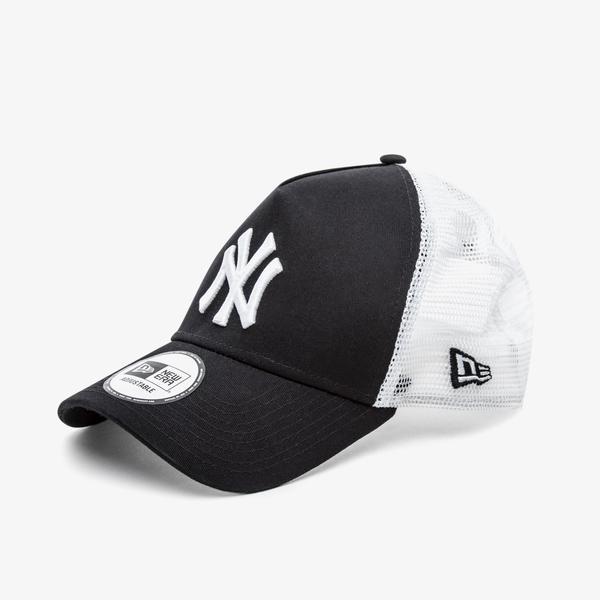 New Era Clean Trucker New York Yankees Unisex Siyah Şapka