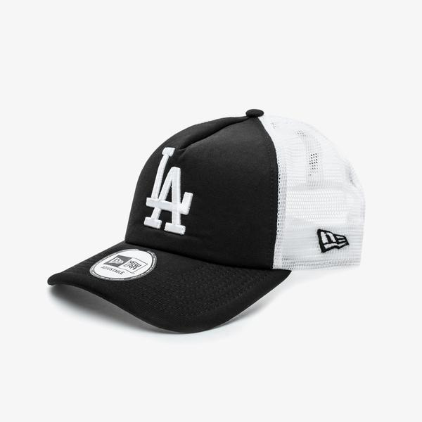 New Era Clean Trucker Los Angeles Dodgers Unisex Siyah Şapka