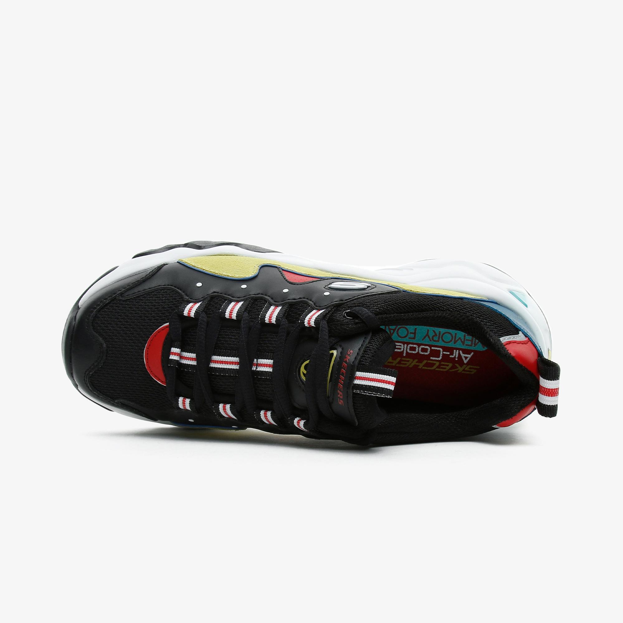 Skechers D'Lites 3.0-Zenway Kadın Siyah-Sarı Spor Ayakkabı