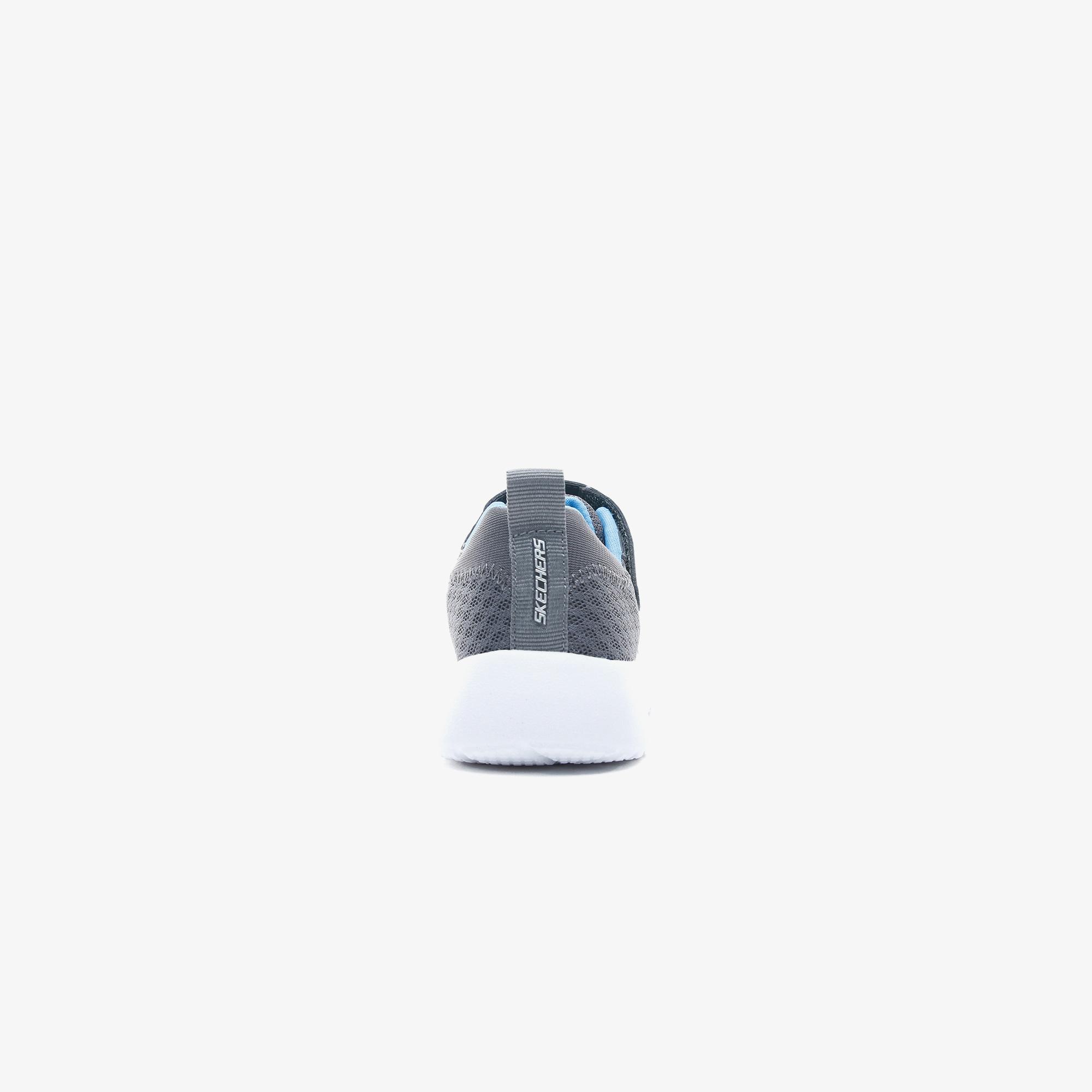 Skechers Dynamight - Hyper Torque Erkek Çocuk Gri-Mavi Spor Ayakkabı