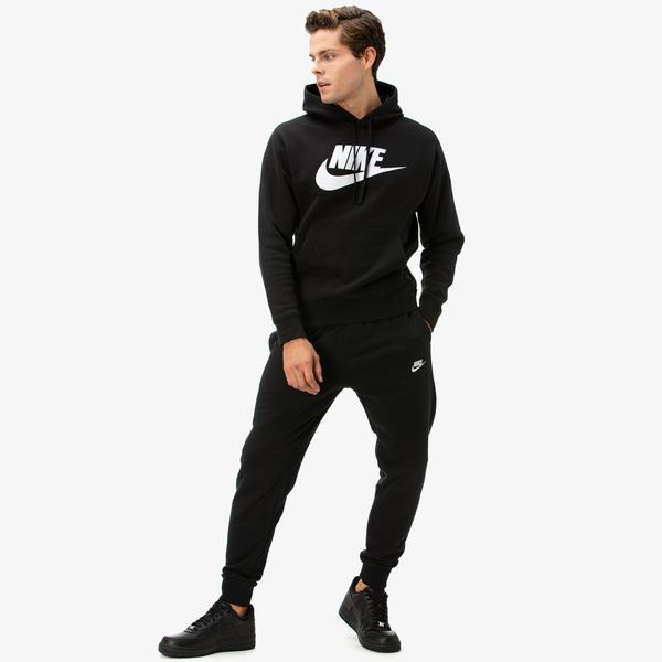 Nike Club Erkek Siyah Eşofman Altı