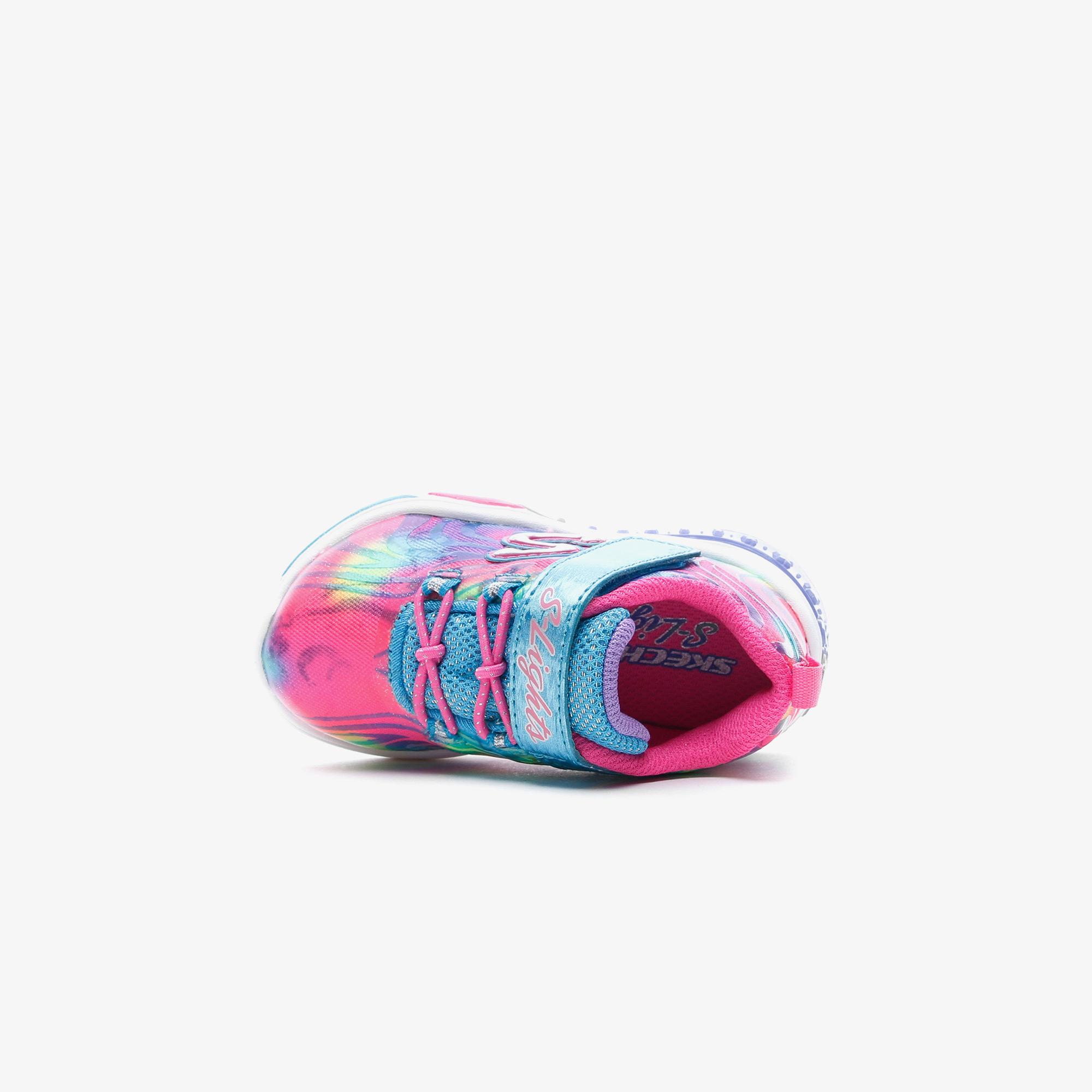 Skechers Power Petals Işıklı Bebek Pembe Spor Ayakkabı