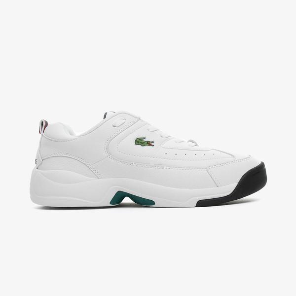 Lacoste V-Ultra Erkek Beyaz Spor Ayakkabı