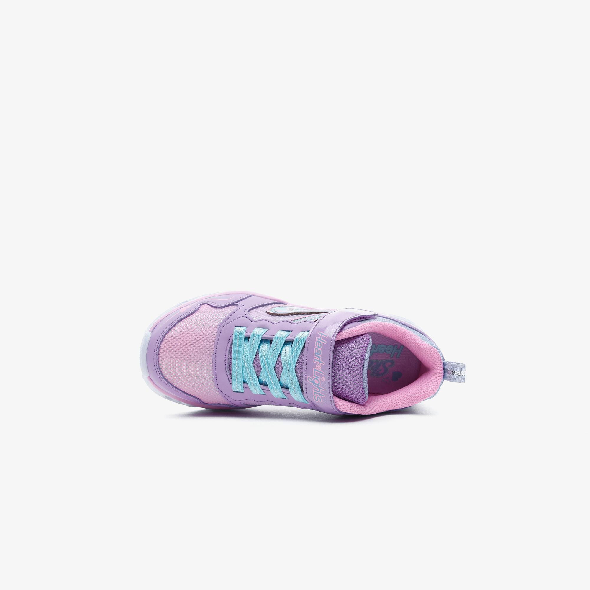 Skechers Heart Lights - Love Spark Çocuk Pembe Spor Ayakkabı