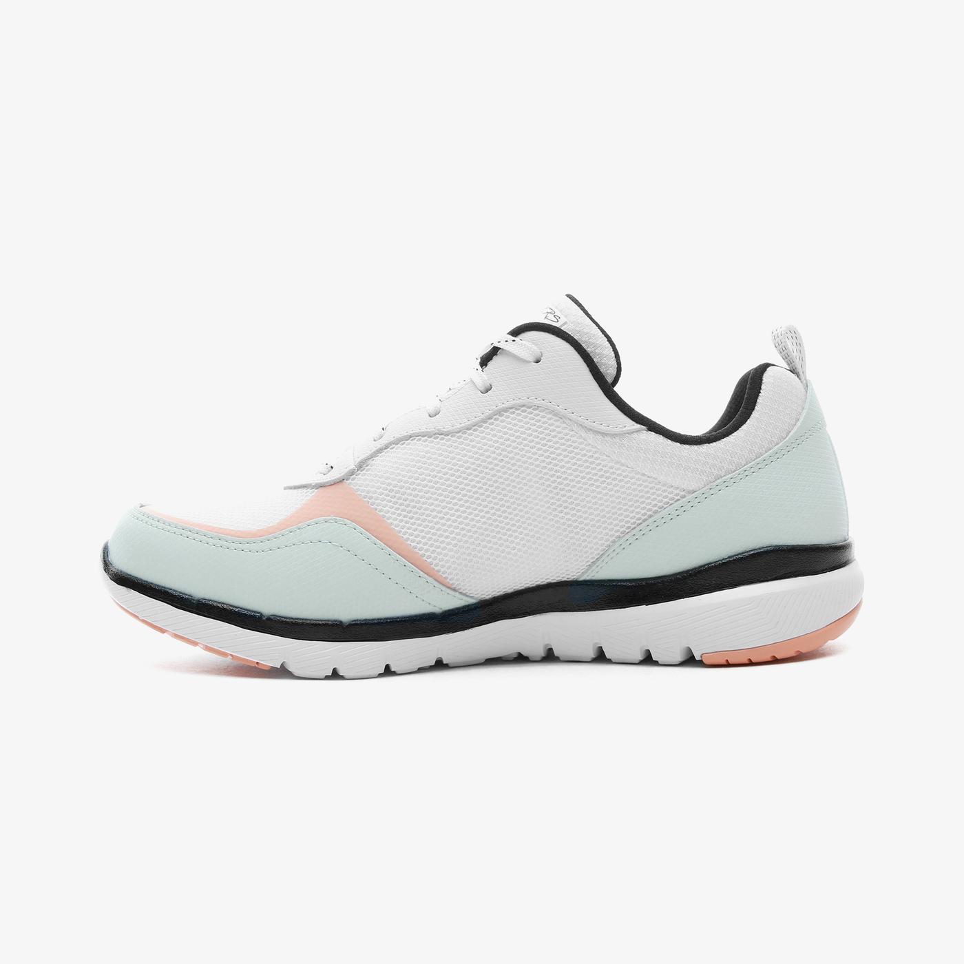 Skechers Flex Appeal 3.0 - Color Appeal Kadın Beyaz Spor Ayakkabı