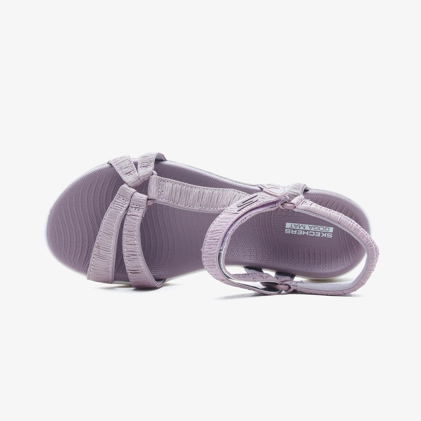 Skechers On the Go 600 Kadın Mor Sandalet