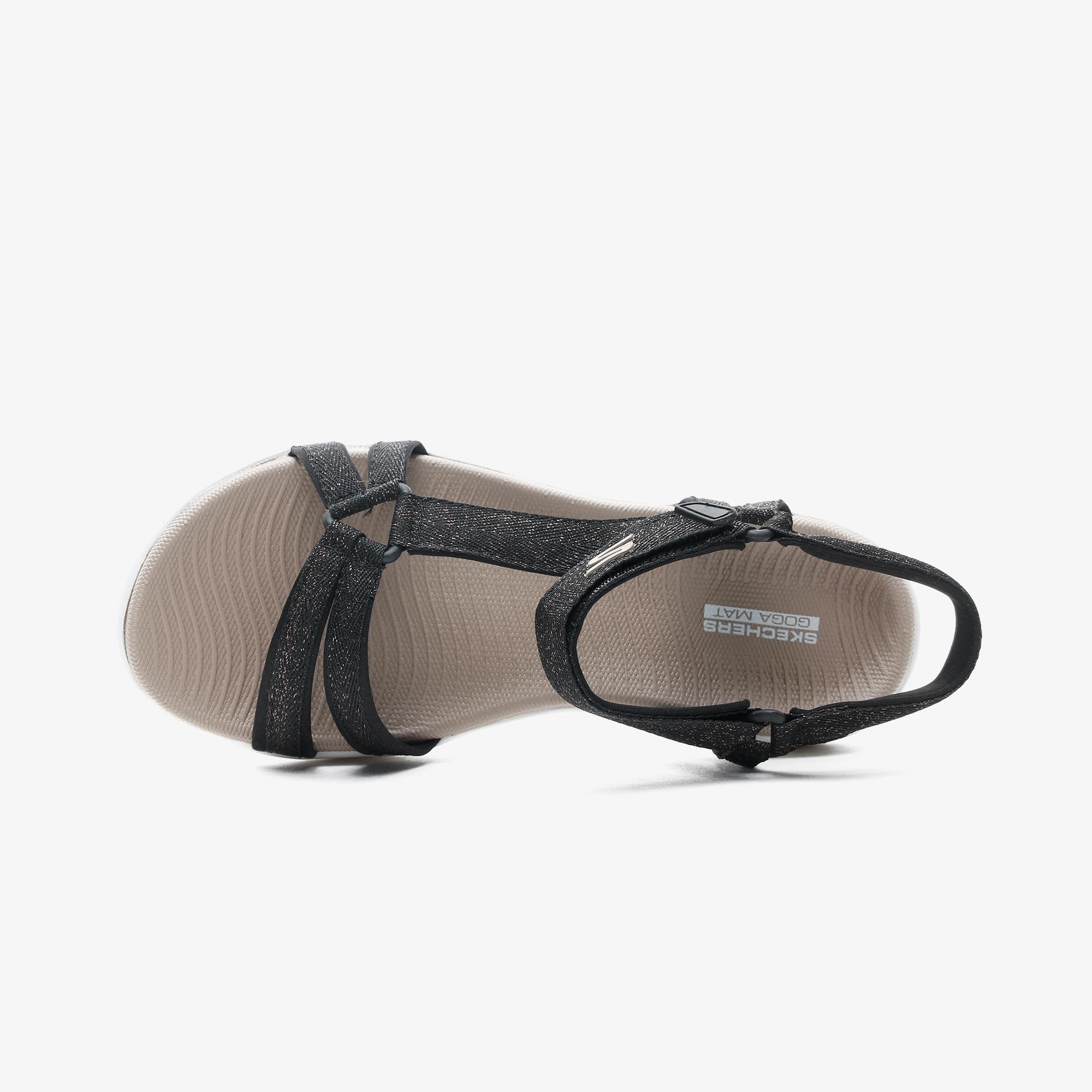 Skechers On the Go 600 - Soiree Kadın Siyah Sandalet