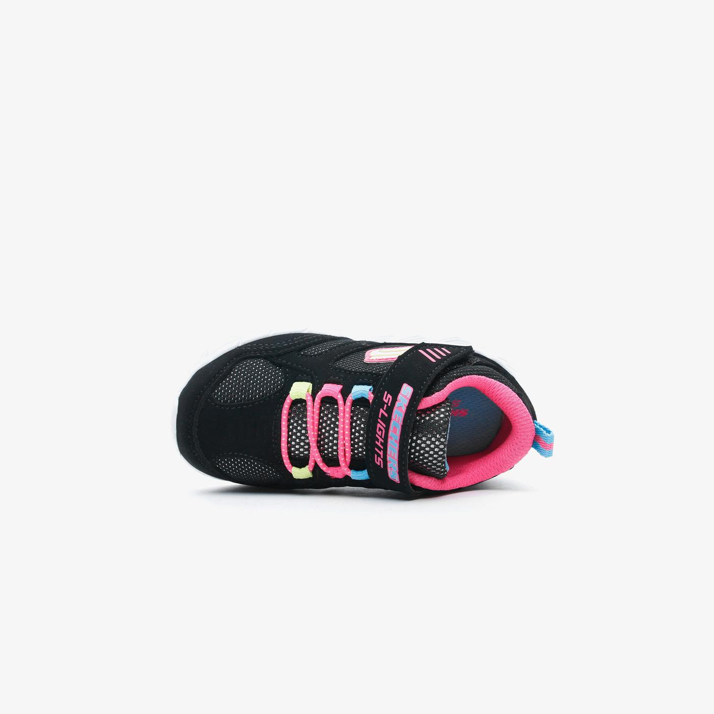 Skechers Magna Lights - Expert Level Bebek Siyah Spor Ayakkabı