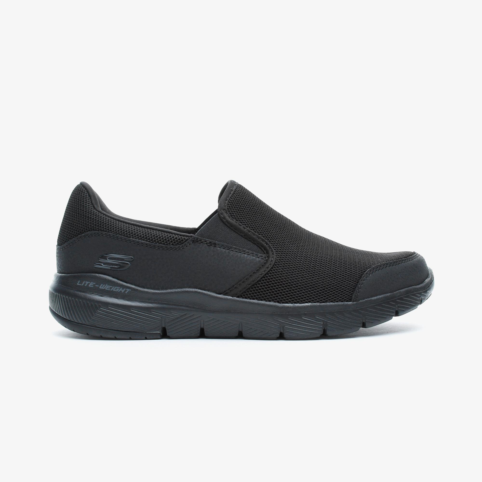 Skechers Flex Advantage 3.0 - Osthurst Erkek Siyah Spor Ayakkabı