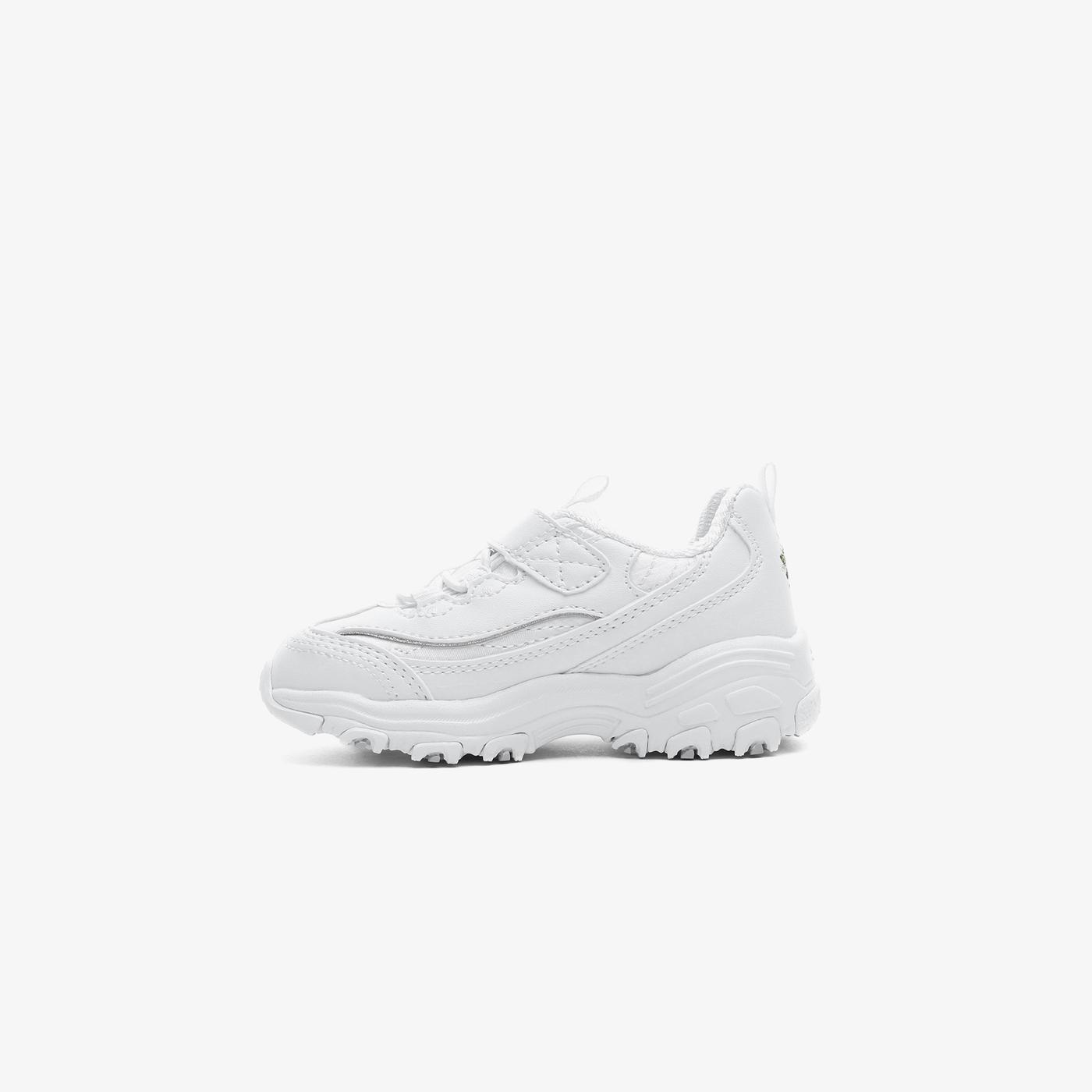 Skechers D'Lites - Lil Blossom Bebek Beyaz Spor Ayakkabı