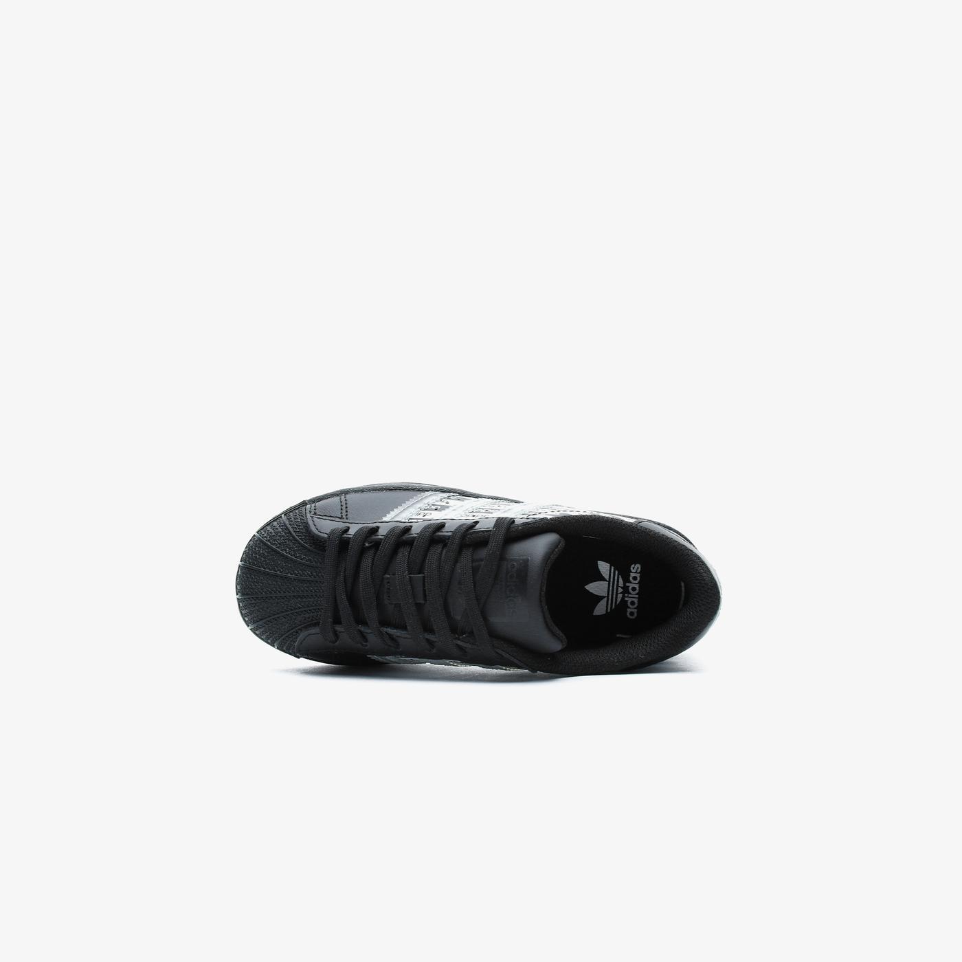 adidas Superstar Çocuk Siyah Spor Ayakkabı