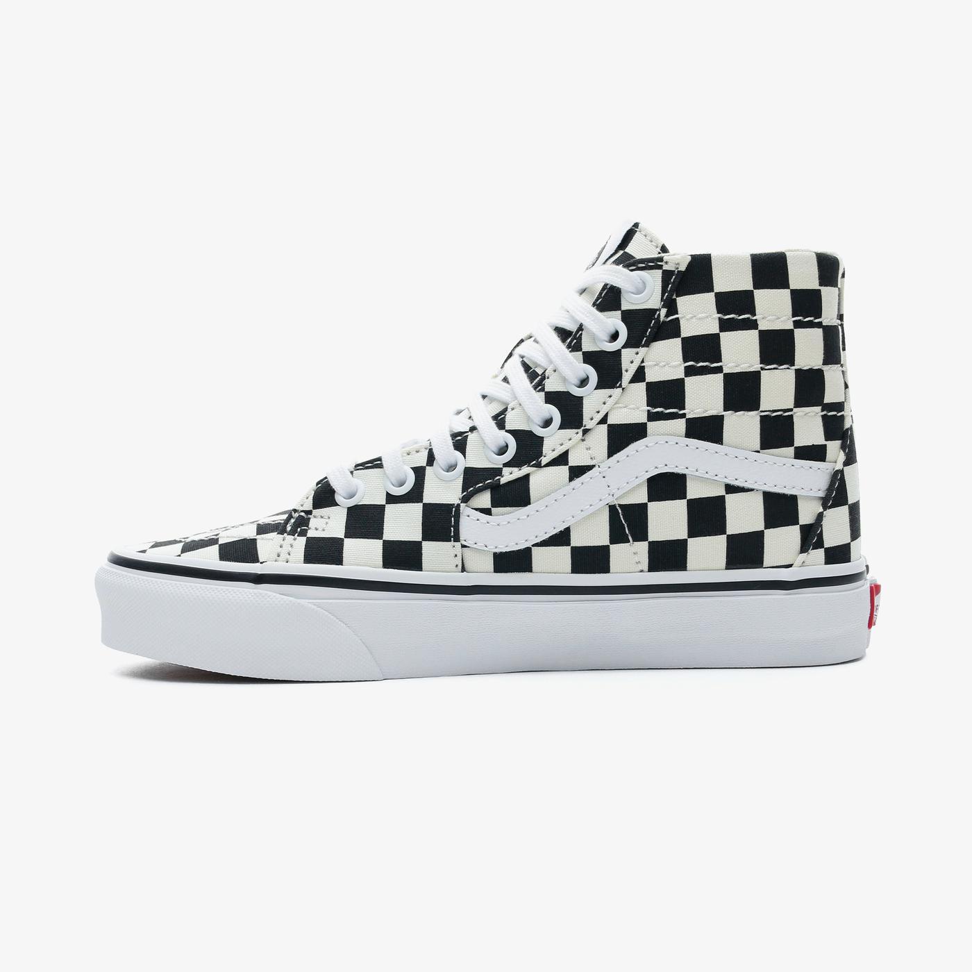 Vans Sk8-Hi Tapered Kadın Bej-Siyah Sneaker
