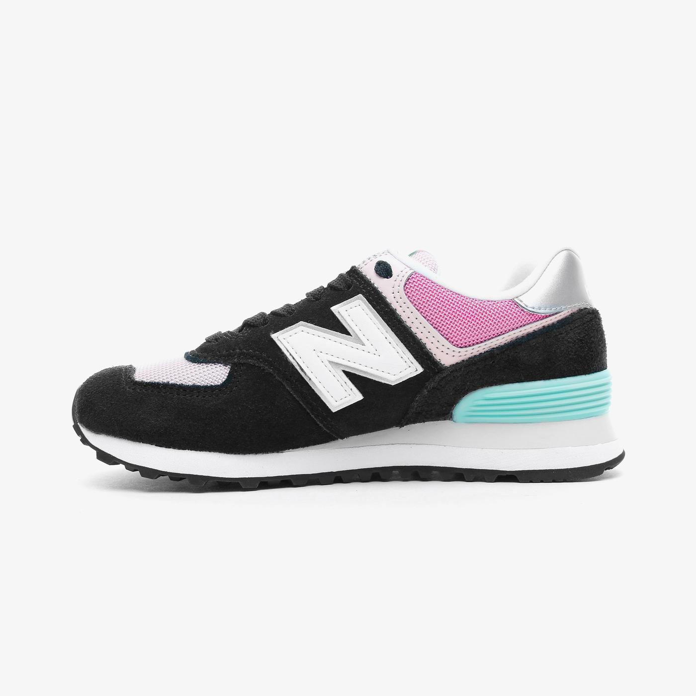 New Balance 574 Kadın Siyah Spor Ayakkabı