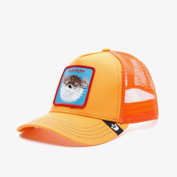 Goorin Bros Puff Unisex Turuncu Şapka