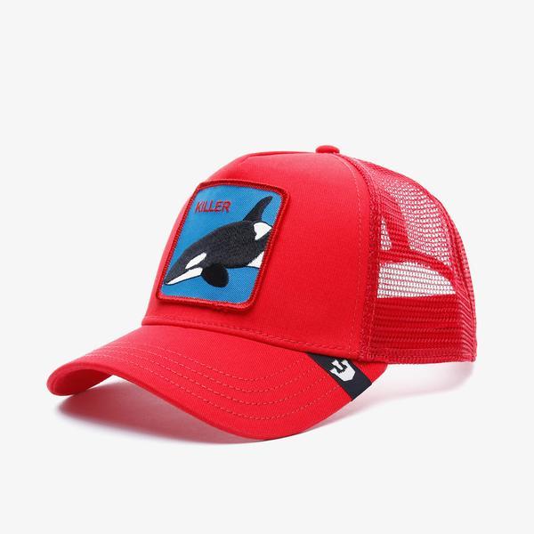 Goorin Bros Killer Whale Unisex Kırmızı Şapka