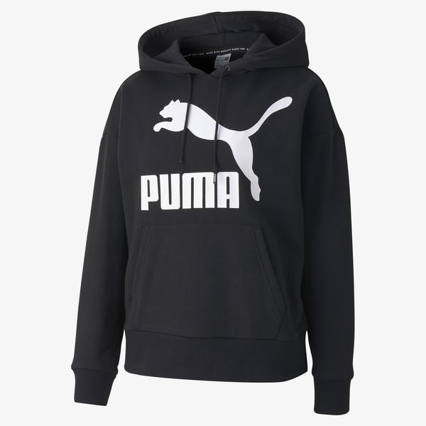 Puma Classics Kadın Siyah Sweatshirt