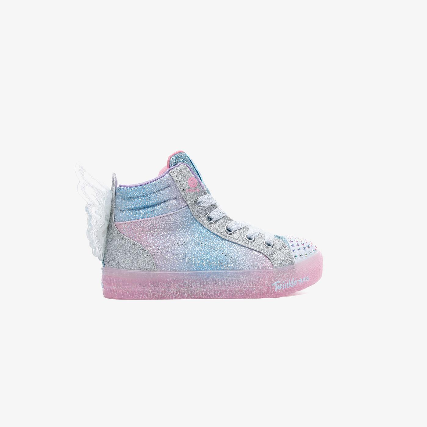 Skechers Shuffle Twinkle Toes: Shuffles - Expressionista Çocuk Mavi Spor Ayakkabı