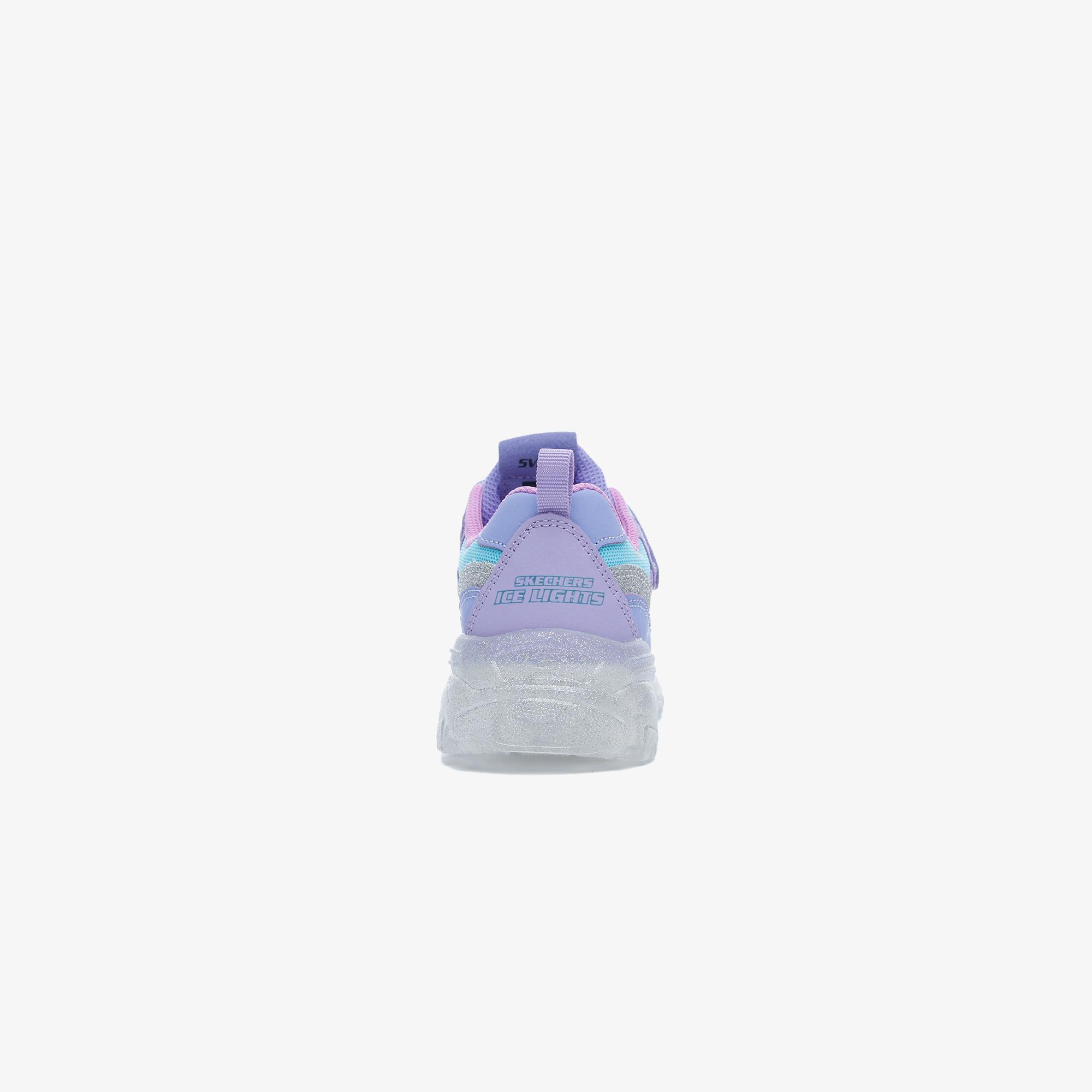 Ice D'Lites-Snow Spark Çocuk Mor Spor Ayakkabı