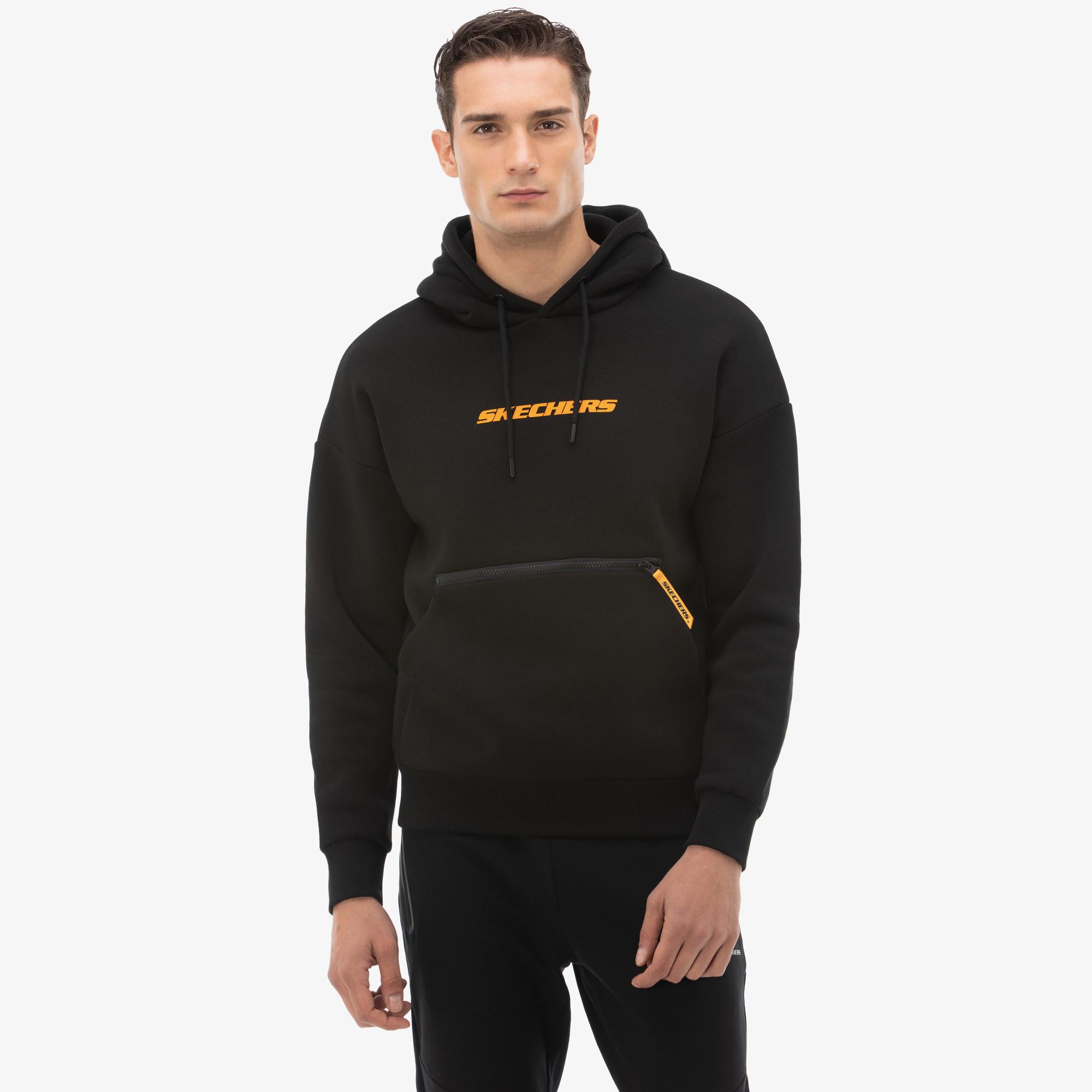 Skechers High Vibes 2 Erkek Siyah Sweatshirt