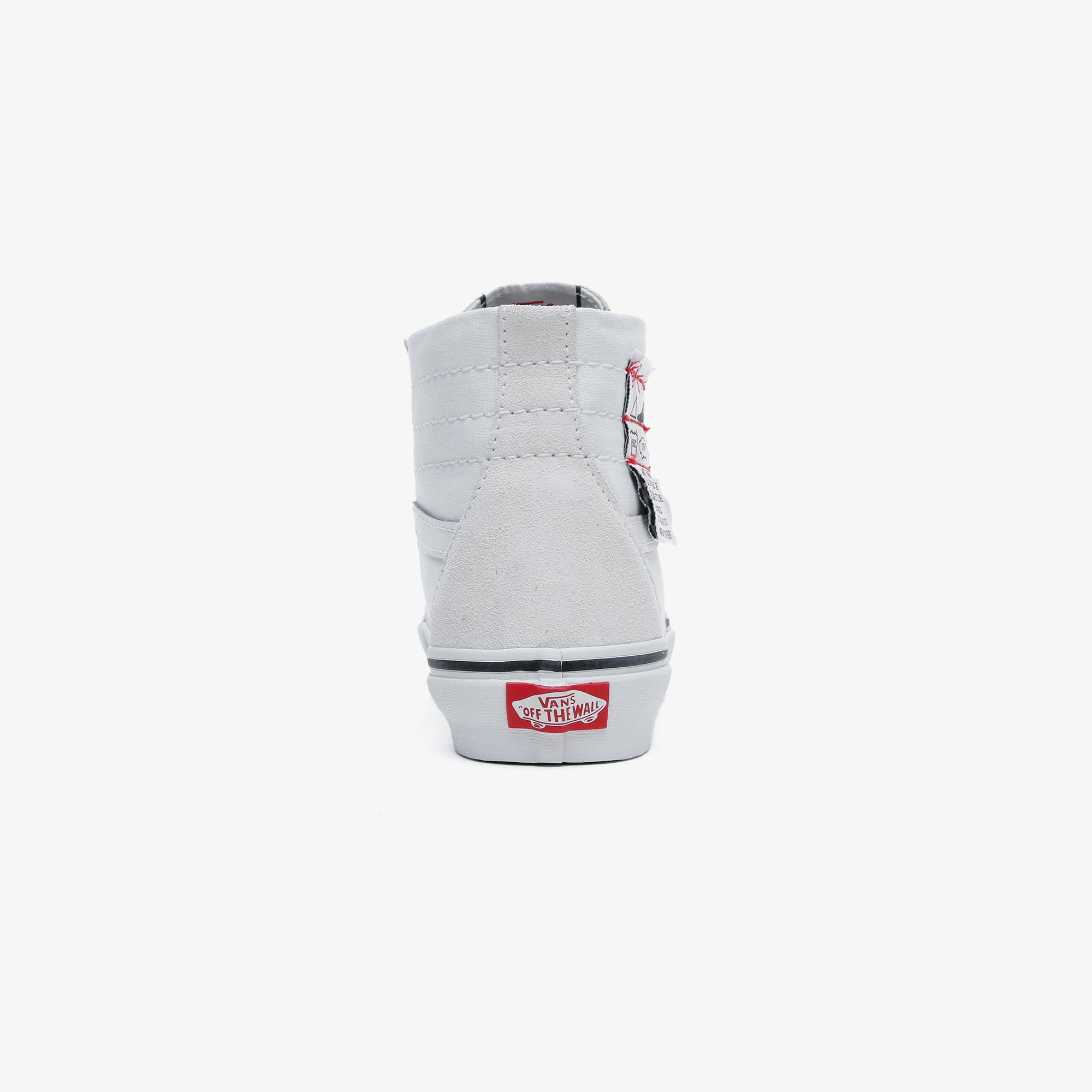 Vans DIY Sk8-Hi Tapered Unisex Beyaz Sneaker