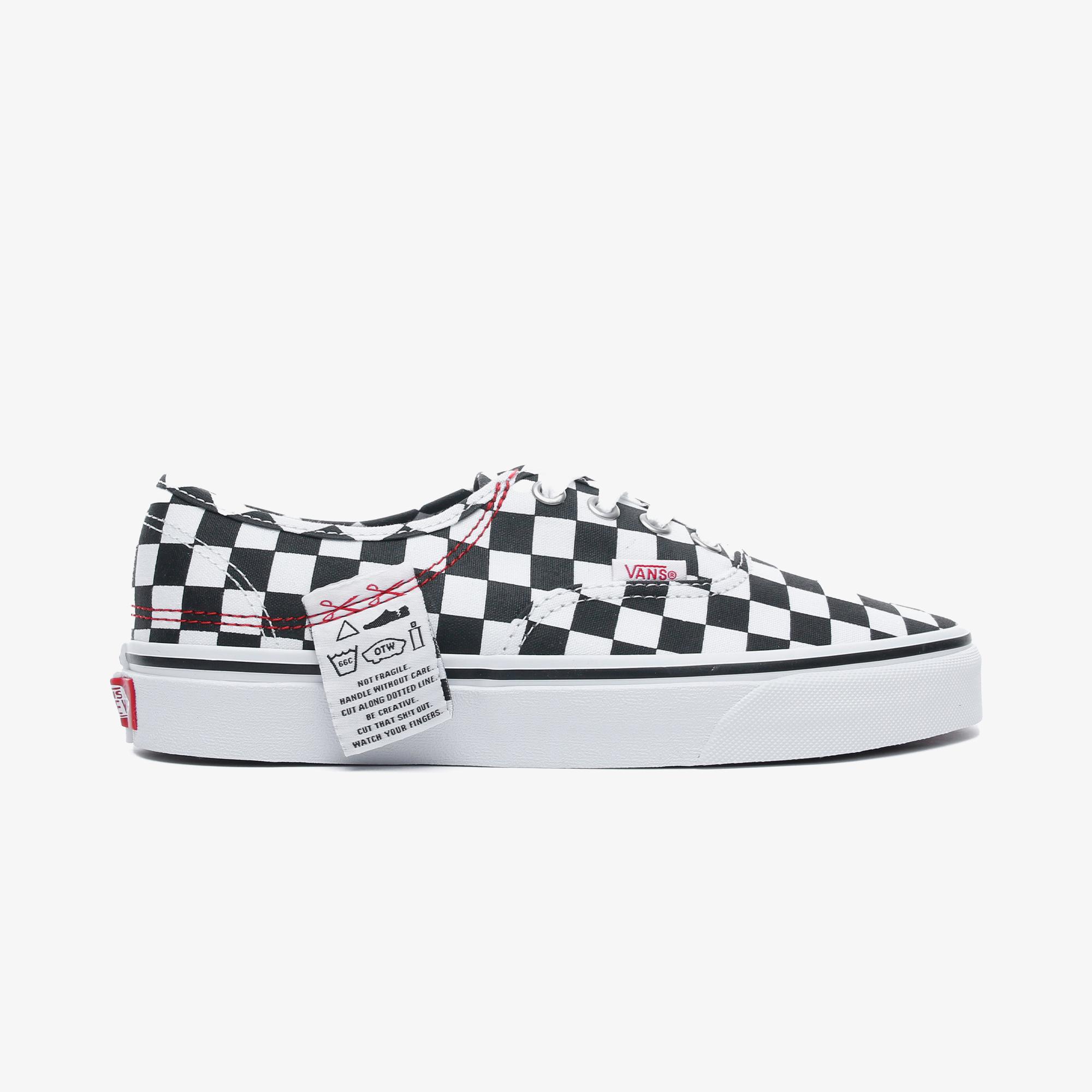 Vans DIY Authentic Hc Kadın Beyaz Sneaker
