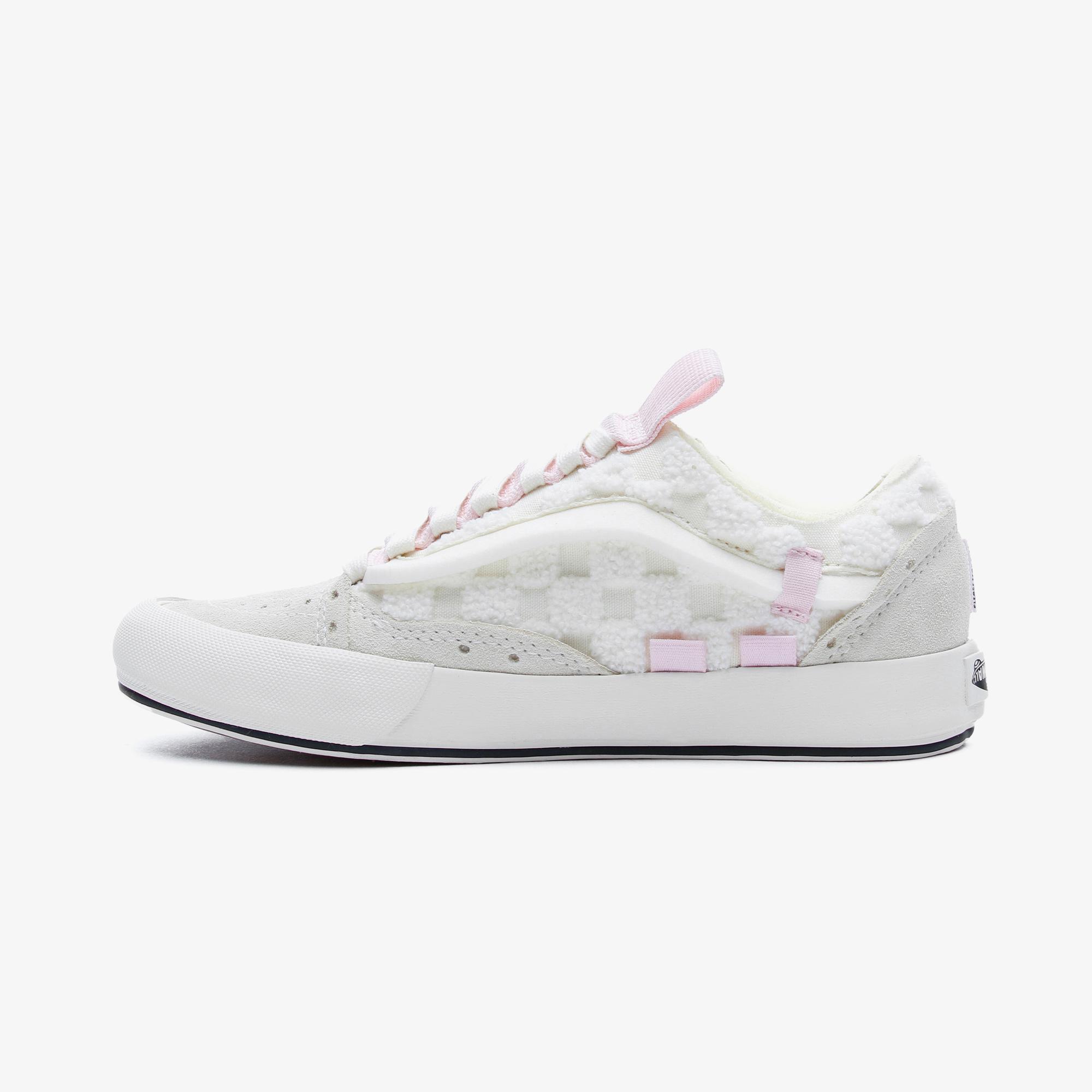 Vans Ua Old Skool Cap Kadın Beyaz Sneaker
