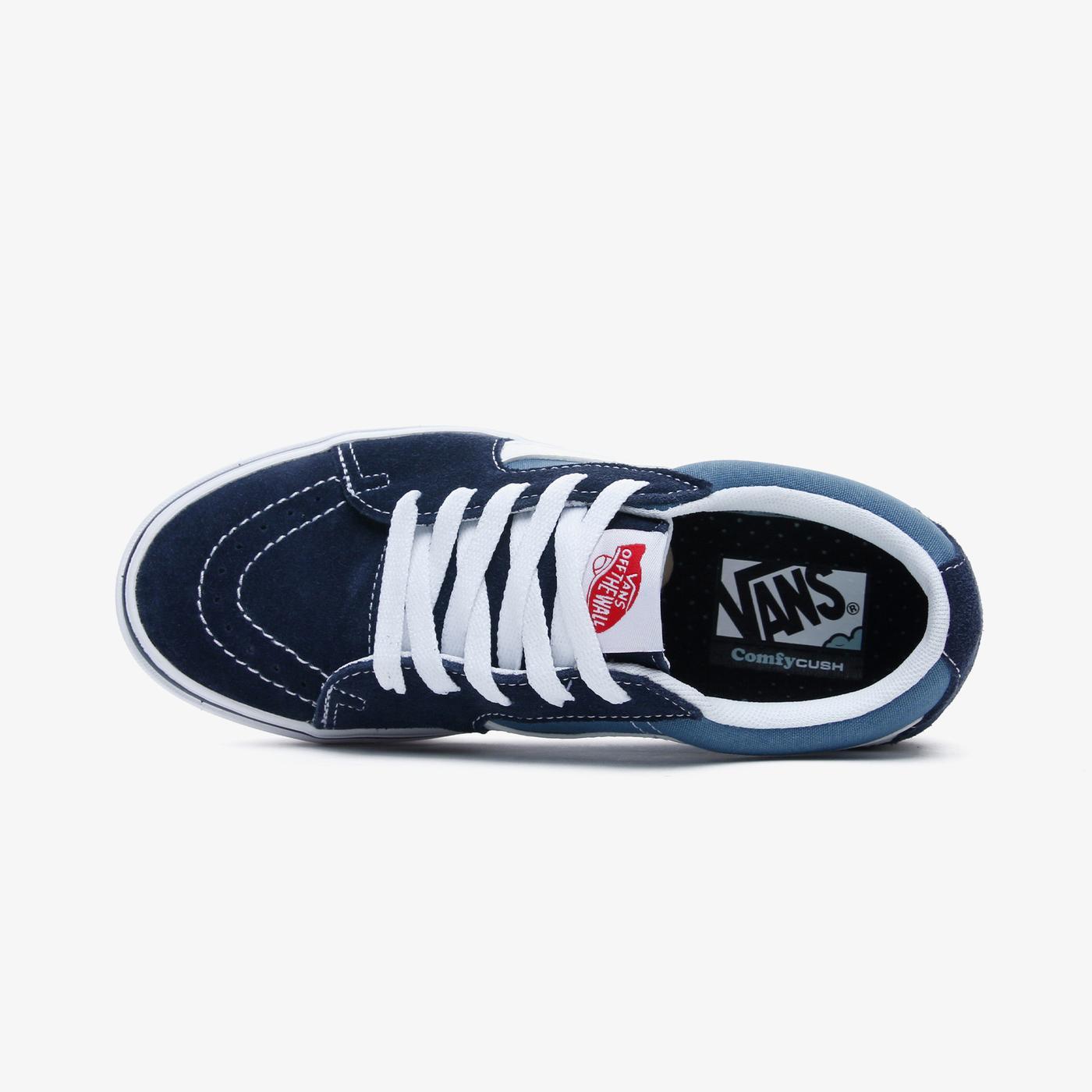 Vans Ua Comfycush Sk8-Low Kadın Lacivert Sneaker