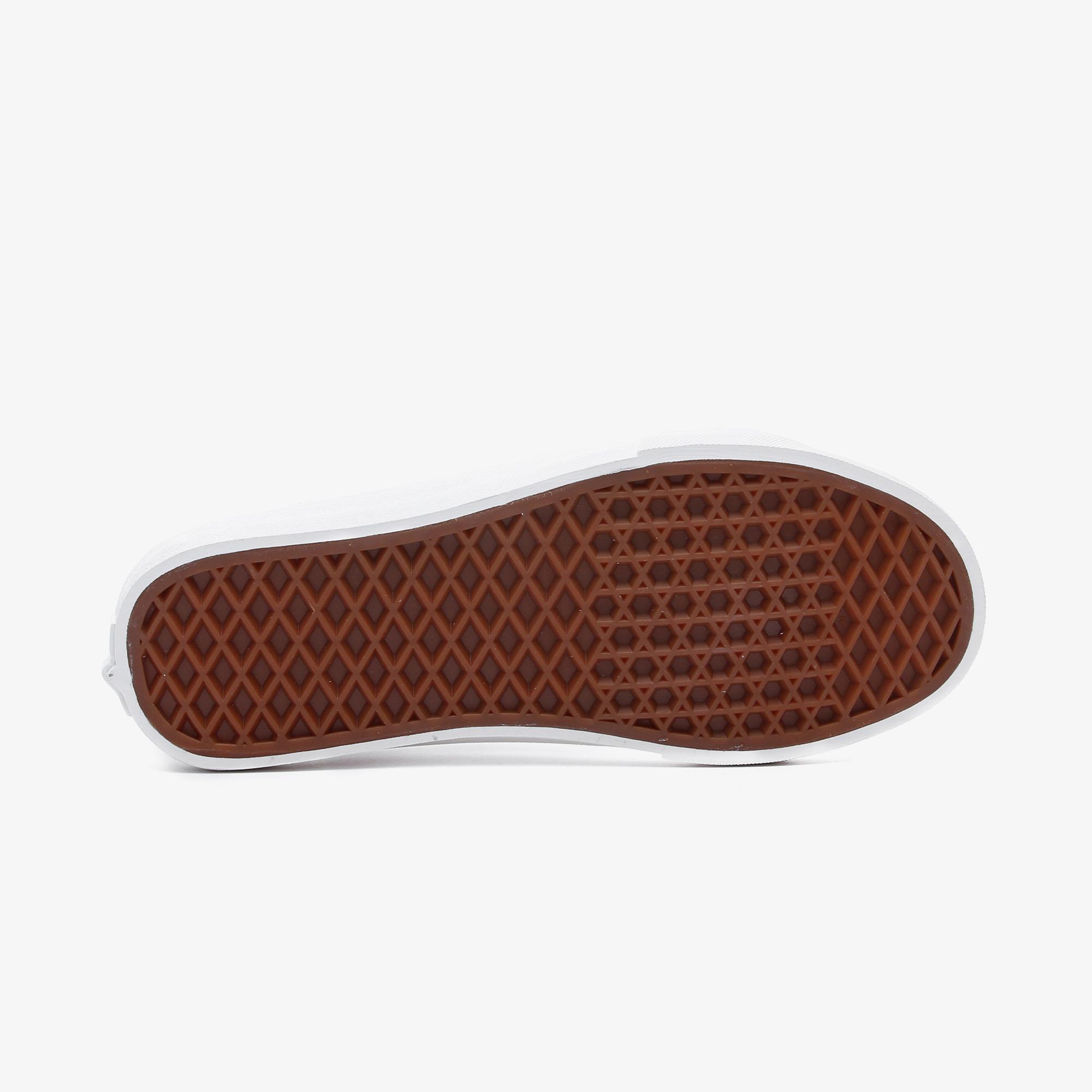 Vans Ua Sk8-Low Reissue Sf Kadın Beyaz Sneaker