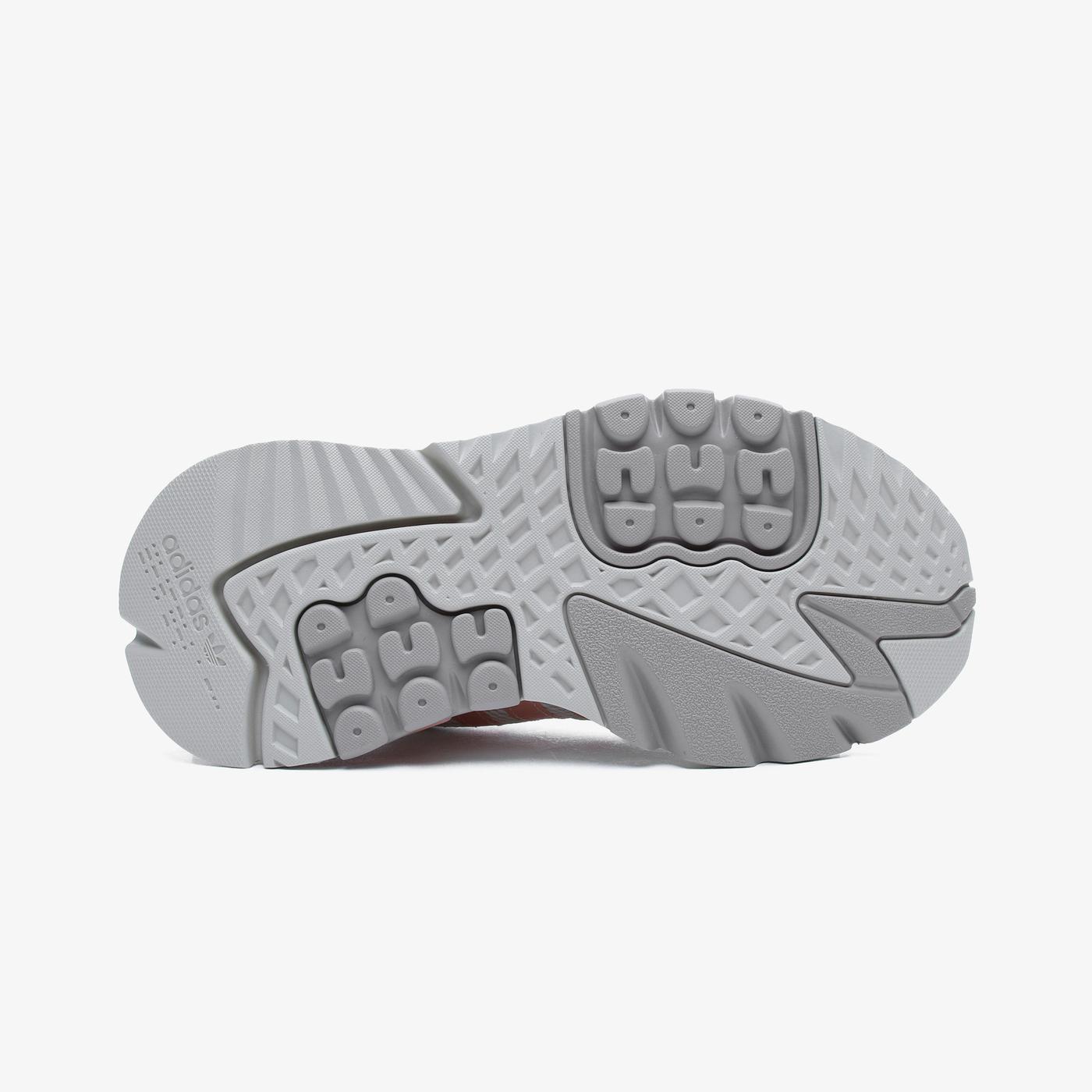 adidas Nite Jogger Kadın Bej Spor Ayakkabı