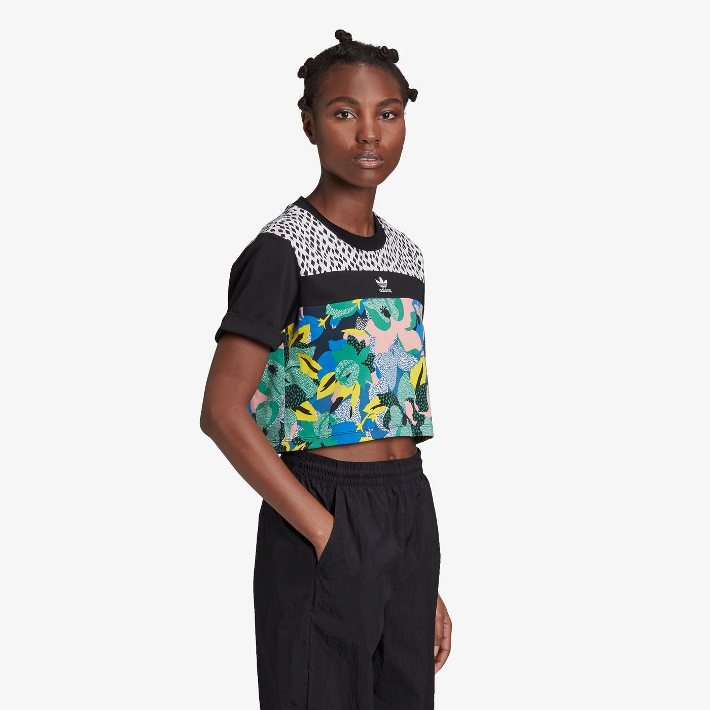 adidas HER Studio London Cropped Kadın T-Shirt