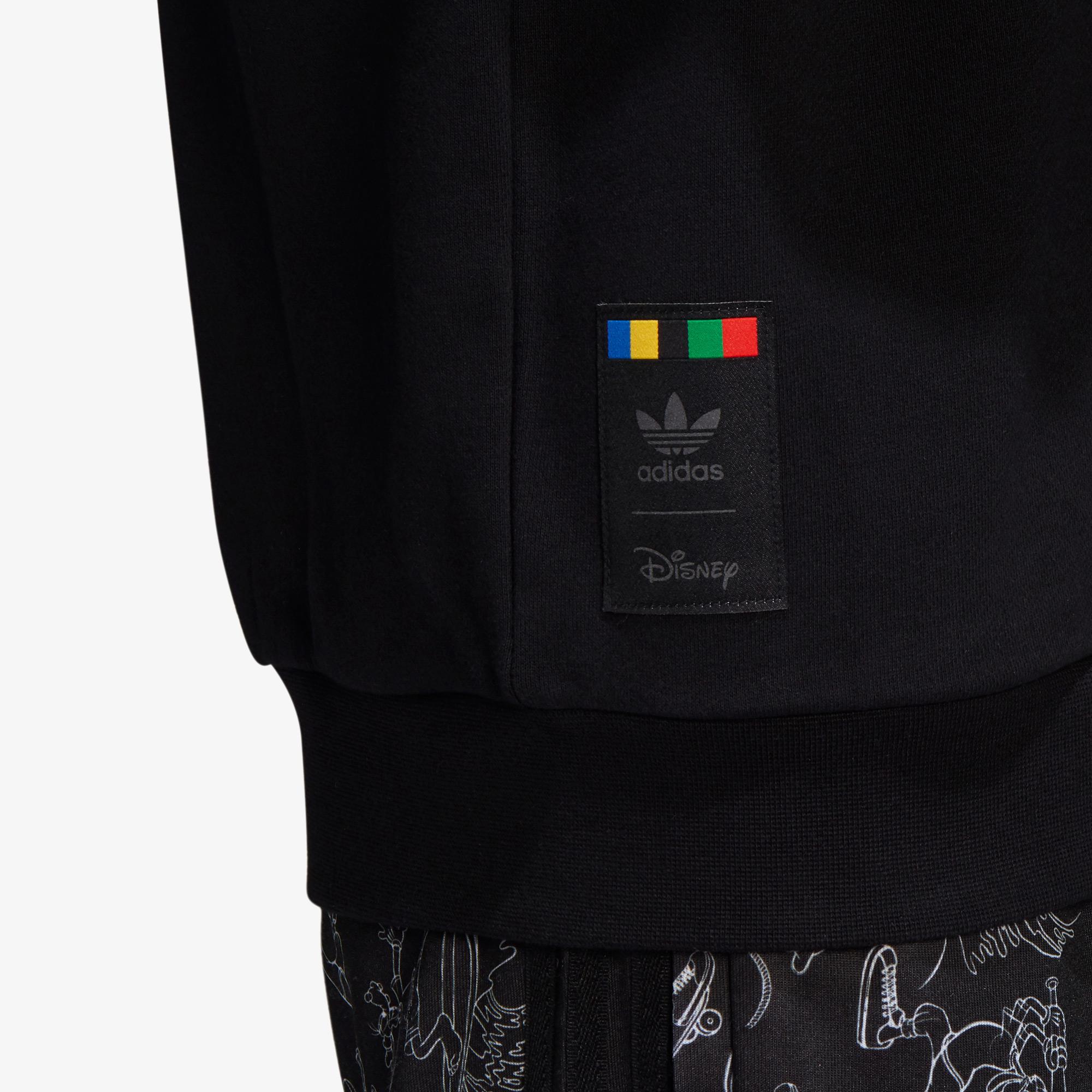 adidas Goofy Crew Erkek Siyah Sweatshirt