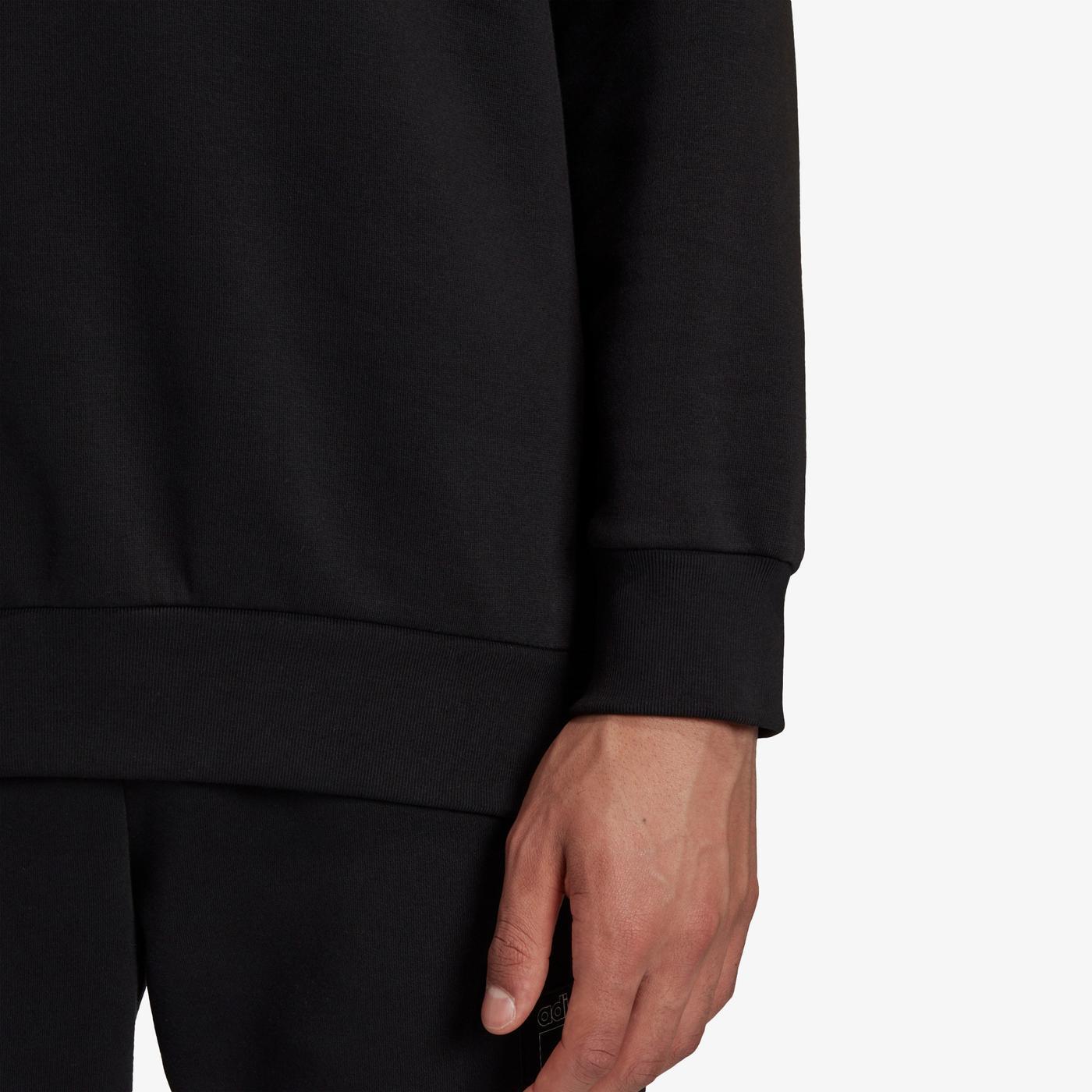 adidas Sprt Icon Quarter-Zip Erkek Siyah Sweatshirt