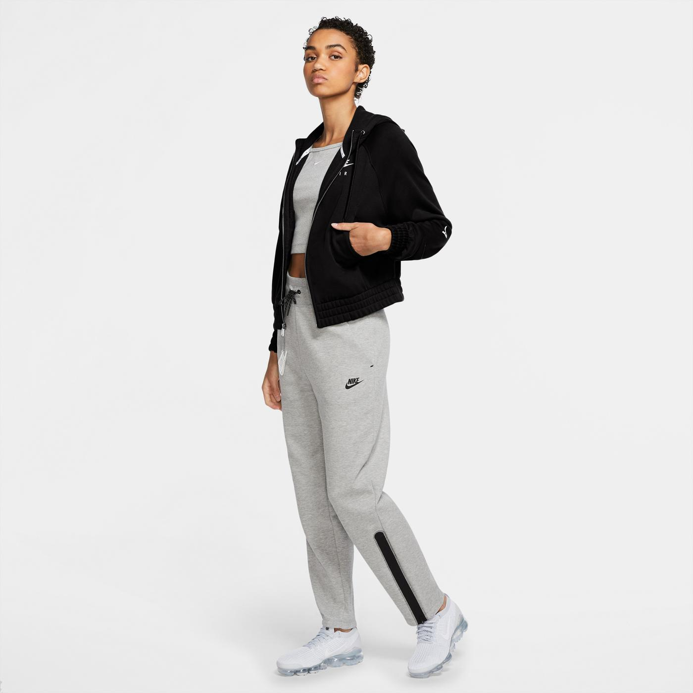 Nike Sportswear Air Kadın Siyah Sweatshirt