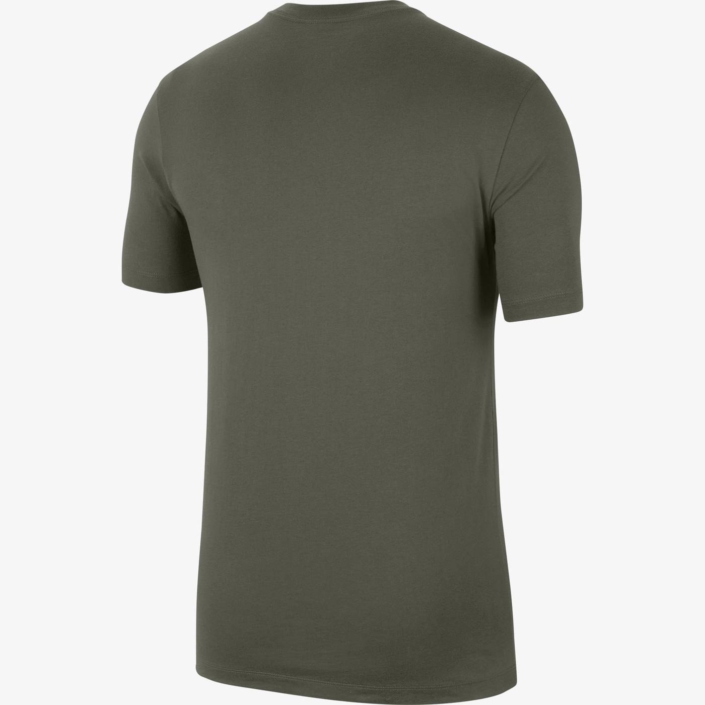 Nike Sportswear Swoosh Erkek Yeşil T-Shirt