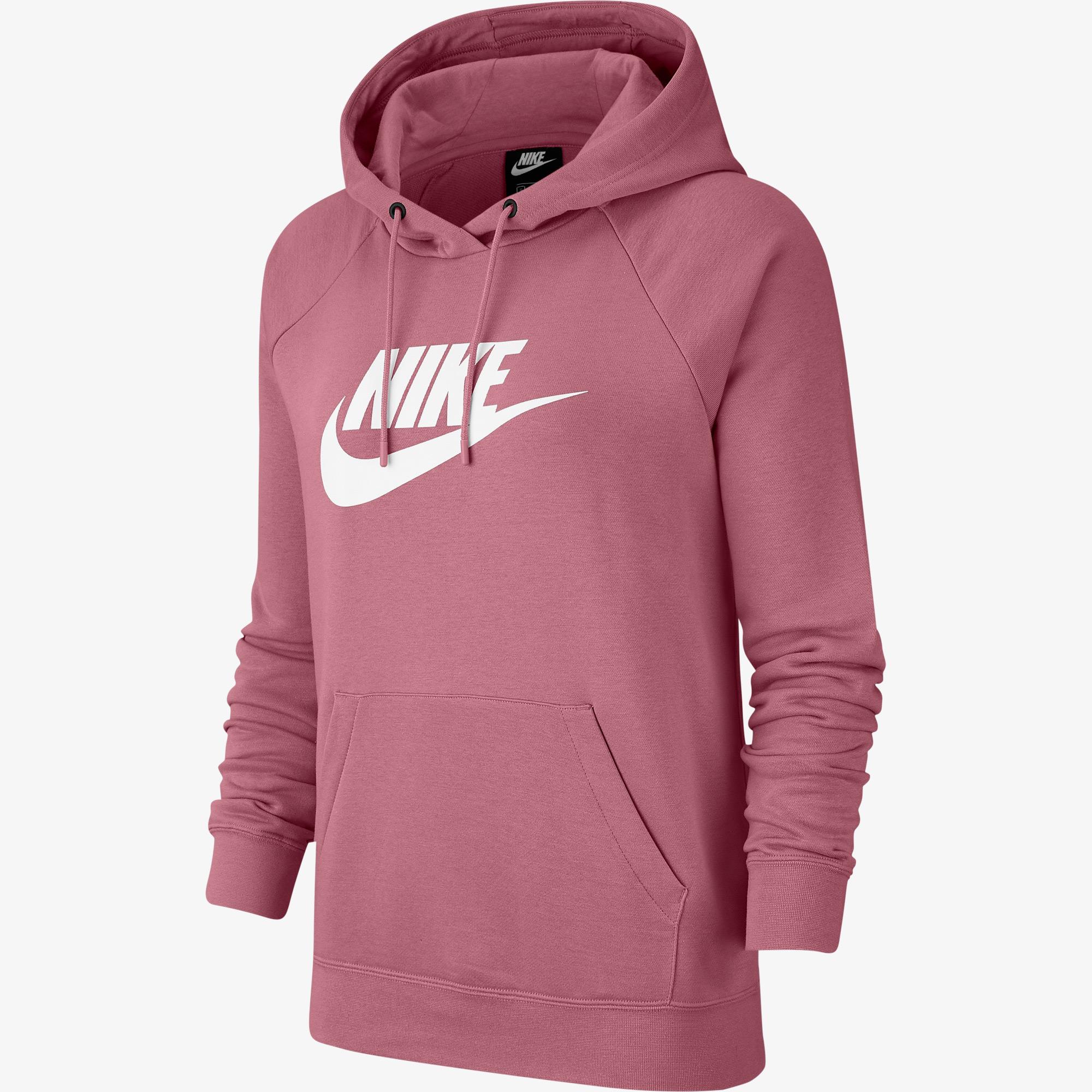 Nike Sportswear Essential Kadın Pembe Sweatshirt