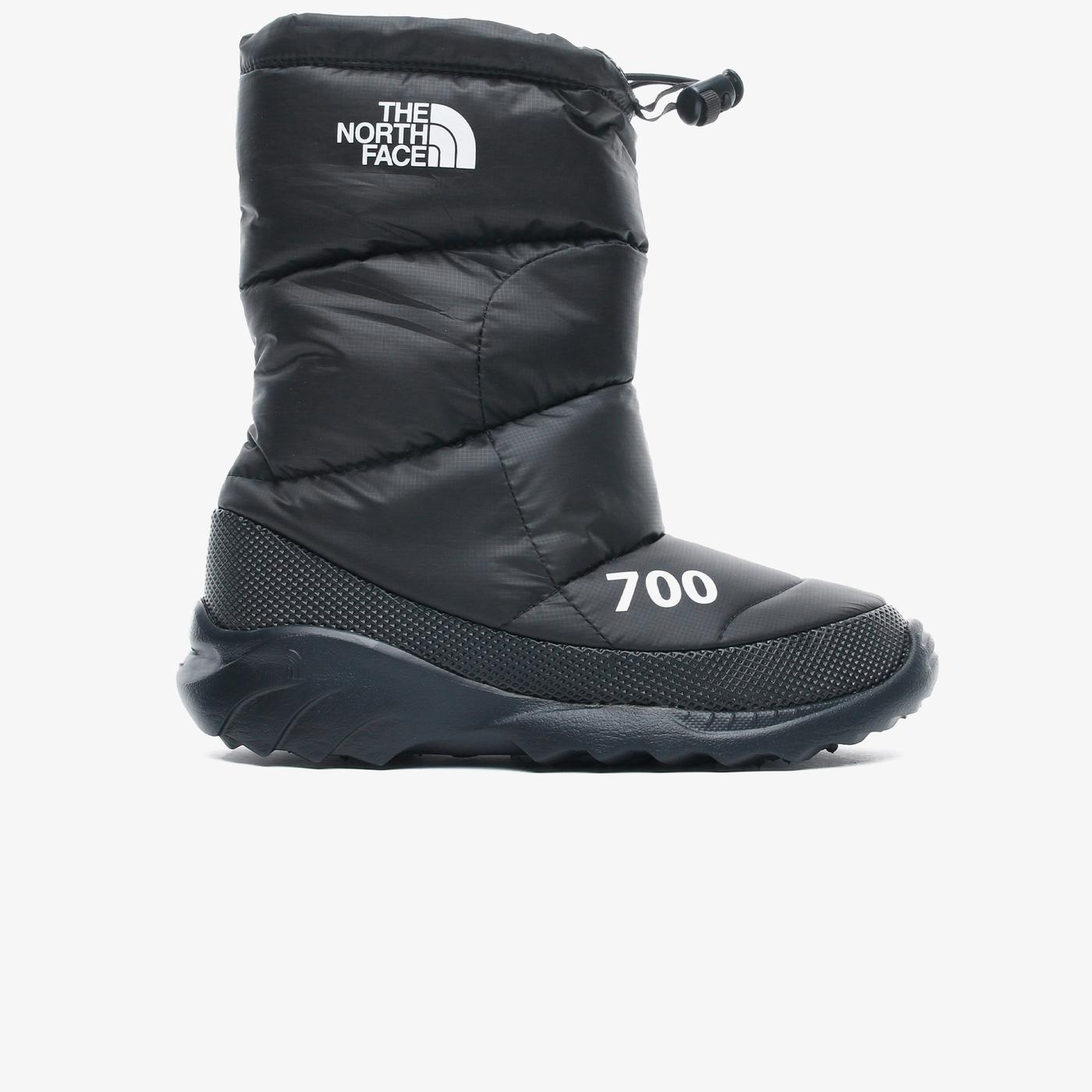 The North Face Nuptse Bootie 700 Kadın Siyah Bot