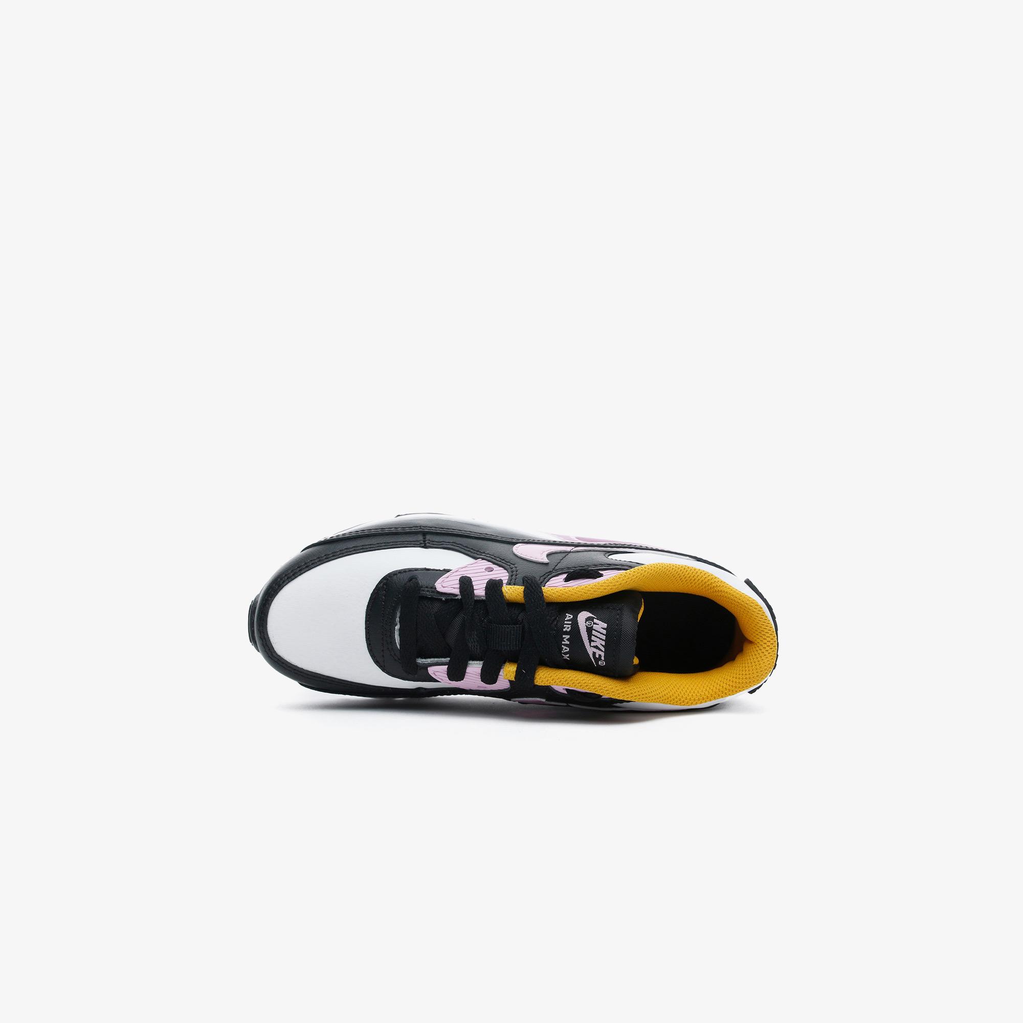 Nike Air Max 90 LTR Çocuk Siyah-Mor Spor Ayakkabı