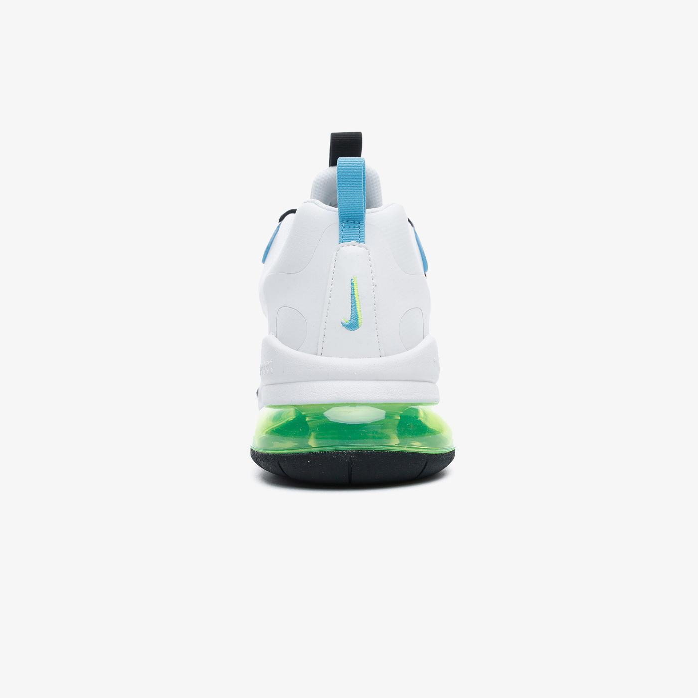 Nike Air Max 270 React GS Kadın Beyaz-Yeşil Spor Ayakkabı