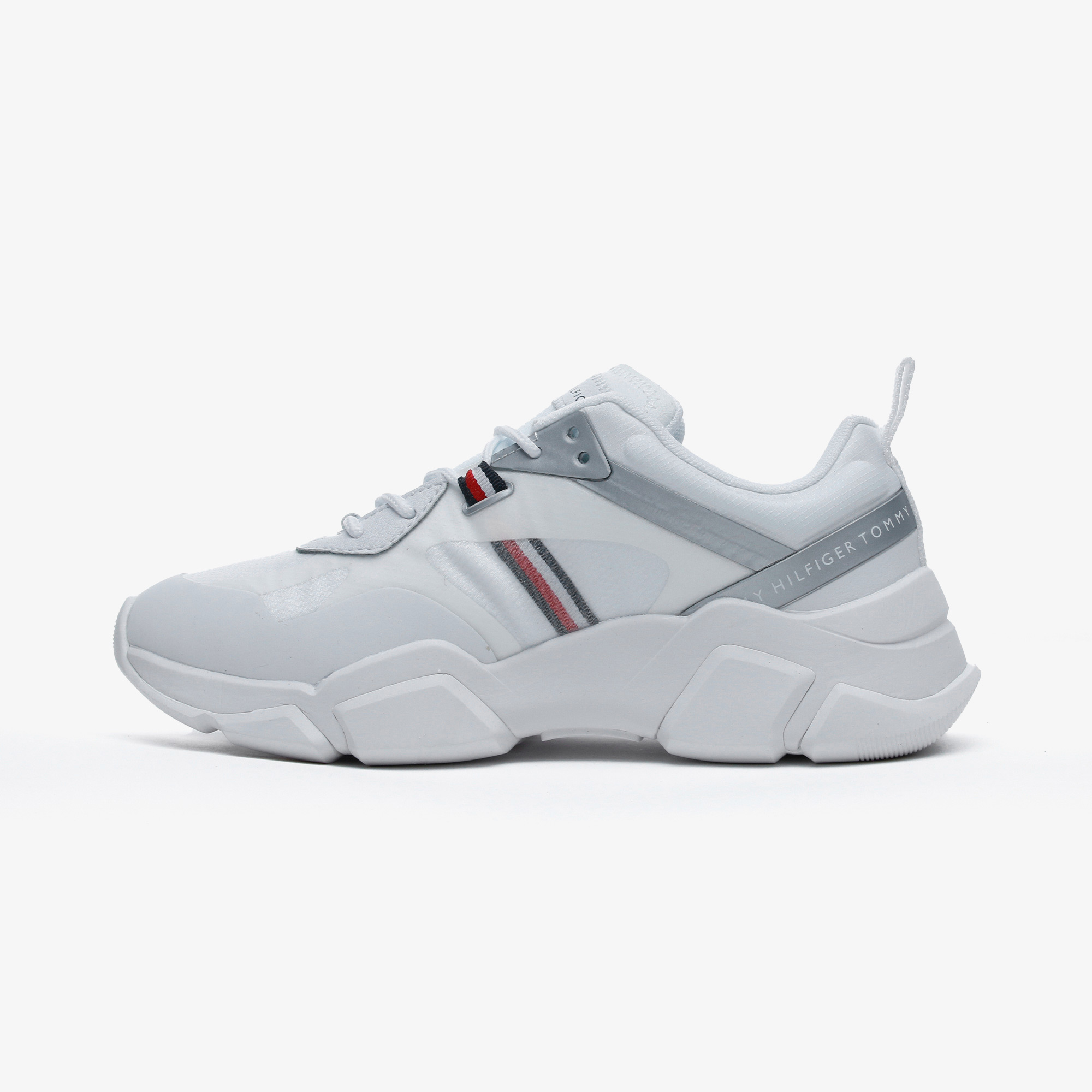 Tommy Hilfiger Technical Chunky Tommy Kadın Beyaz Spor Ayakkabı
