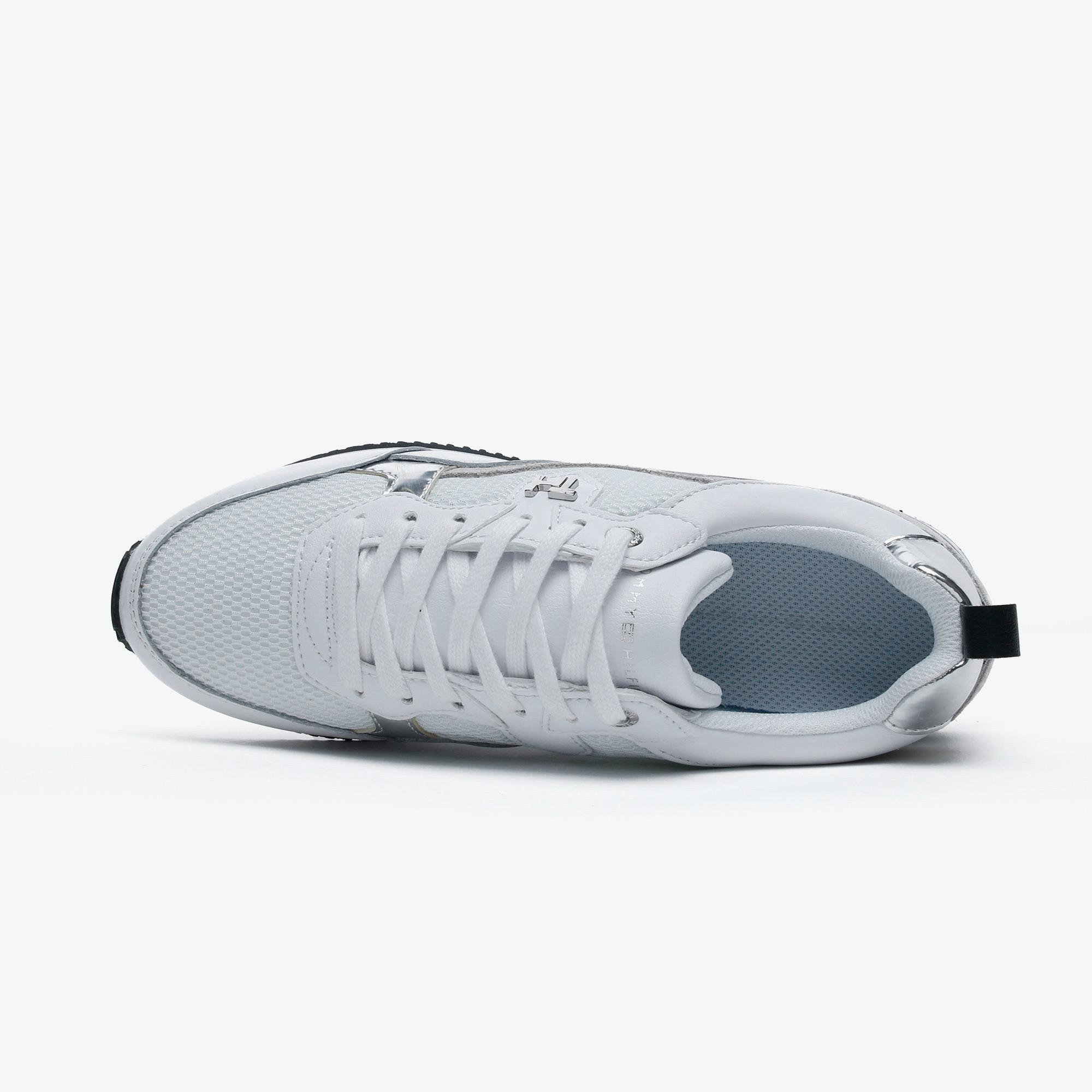 Tommy Hilfiger Feminine Active City Kadın Beyaz Spor Ayakkabı