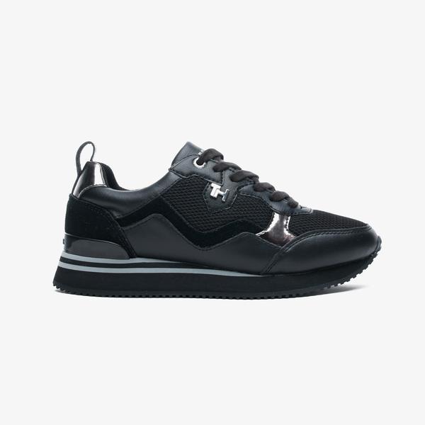 Tommy Hilfiger Feminine Active City Kadın Siyah Spor Ayakkabı