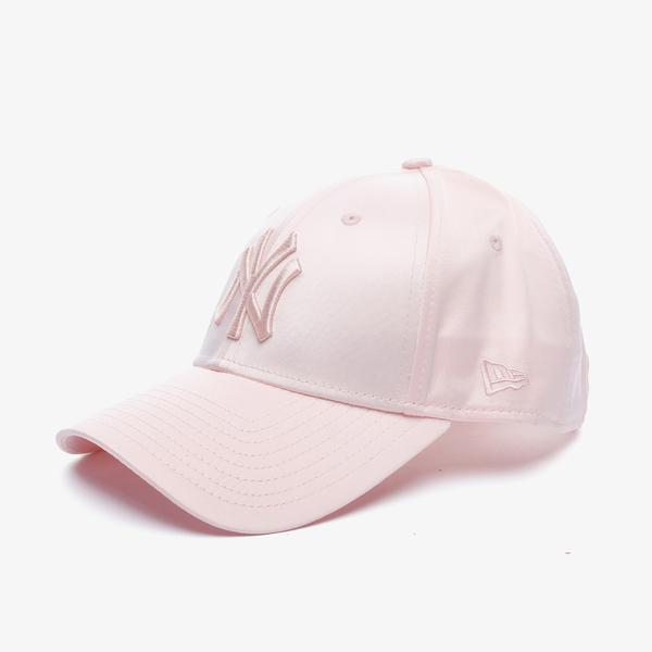 New Era Mlb Satin 9Forty New York Yankees Unisex Pembe Şapka